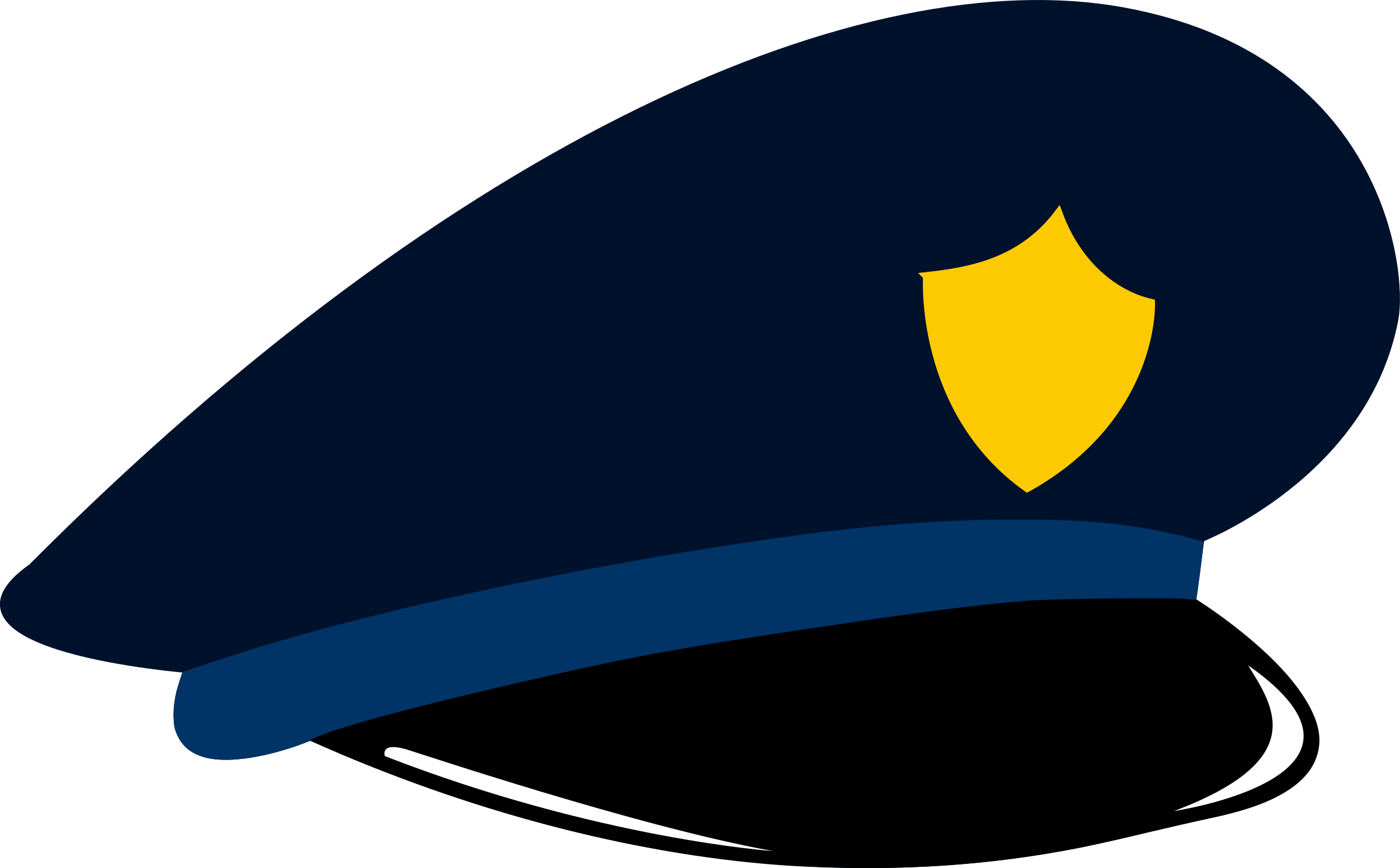 clipart police cap rh openclipart org clipart policeman cap police cap clipart
