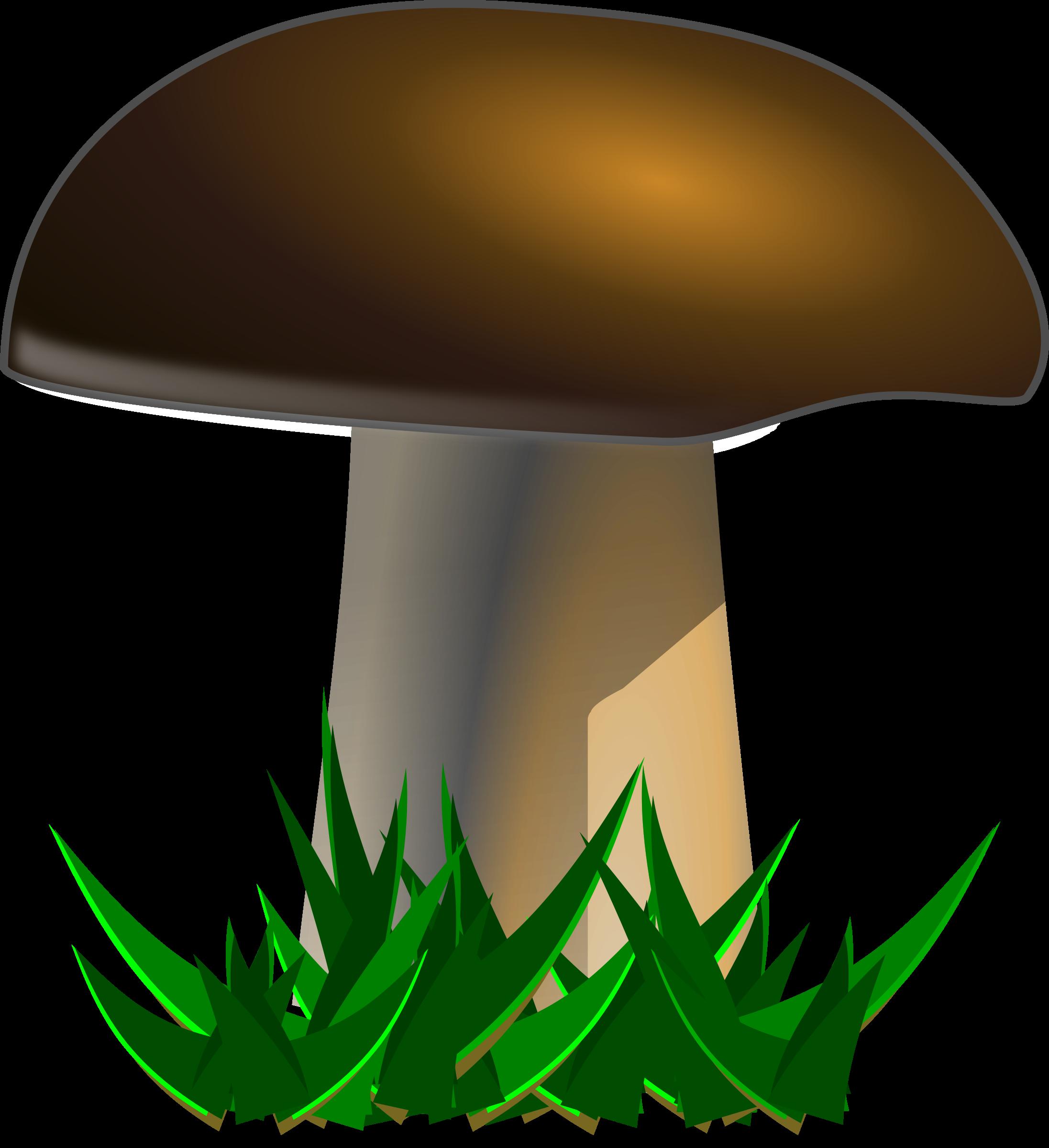Mushroom food clipart