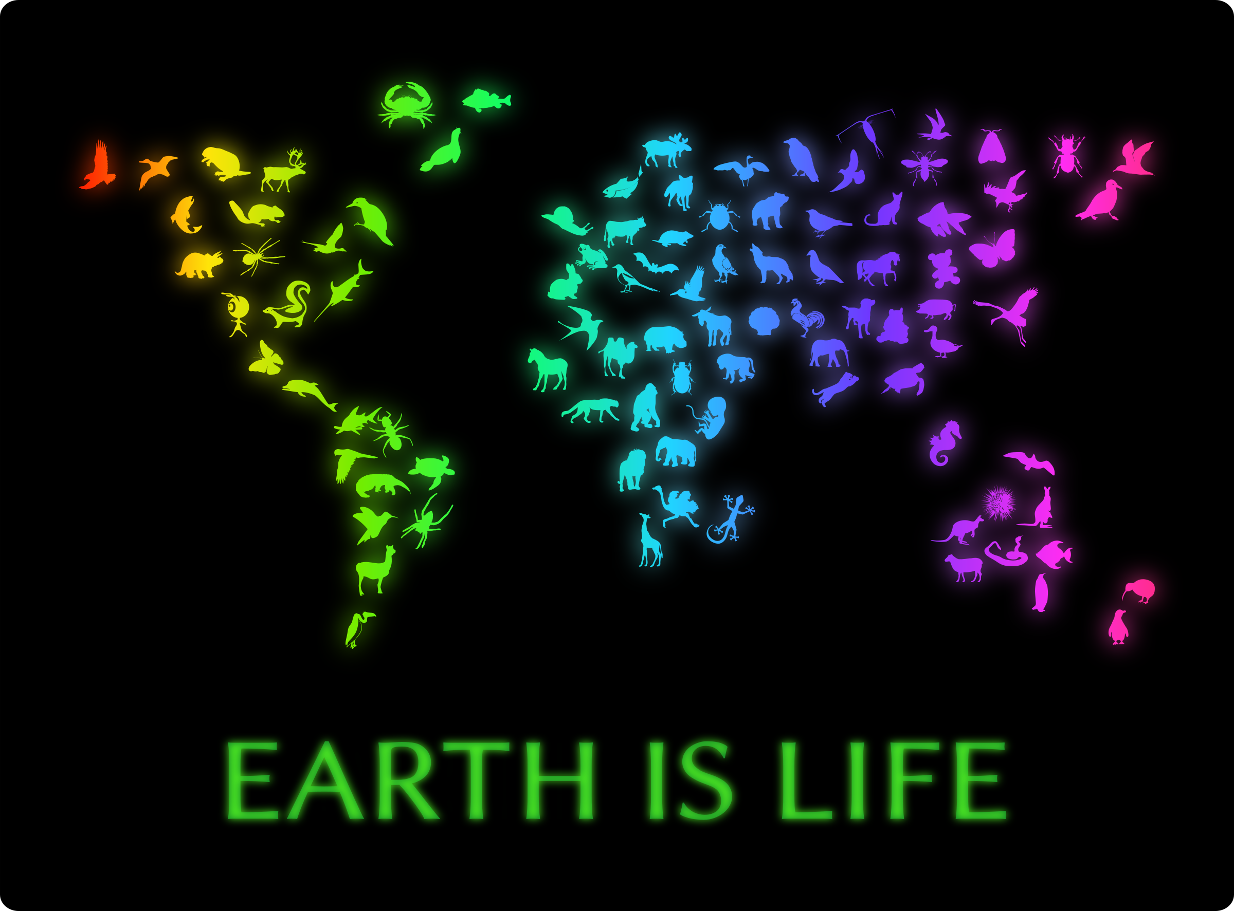 Earth Is Life by Moini
