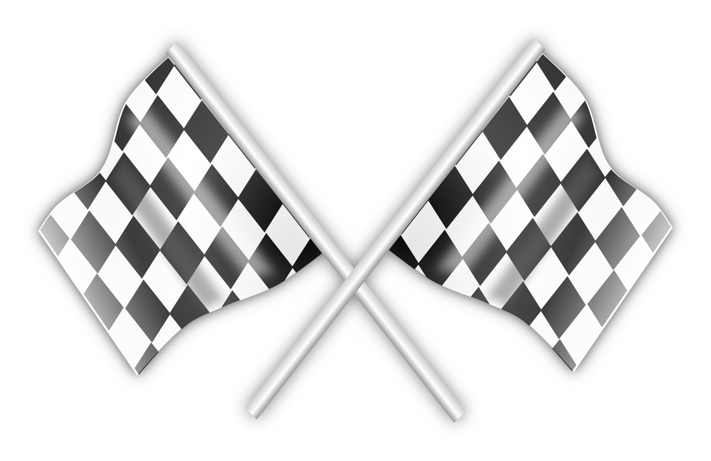 Racing Checkered Flag >> Clipart - Racing Flag