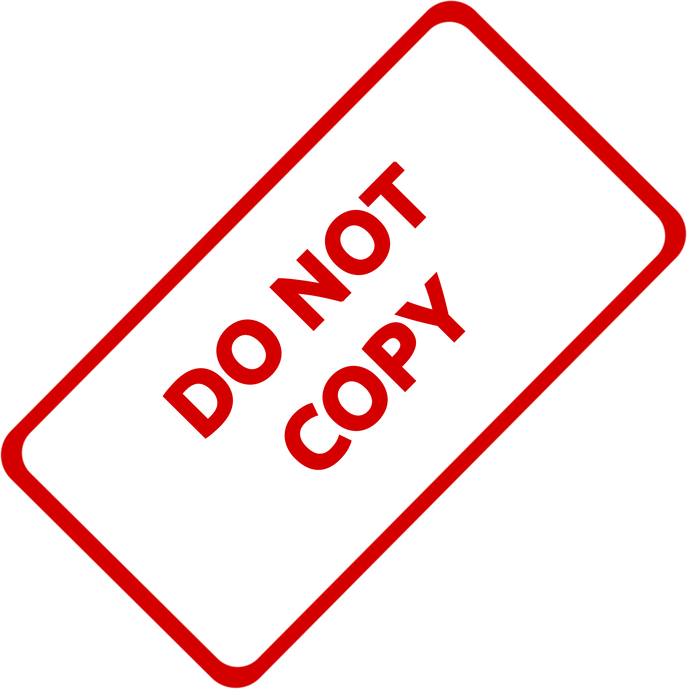 Do Not Copy Business Stamp 1 by Merlin2525