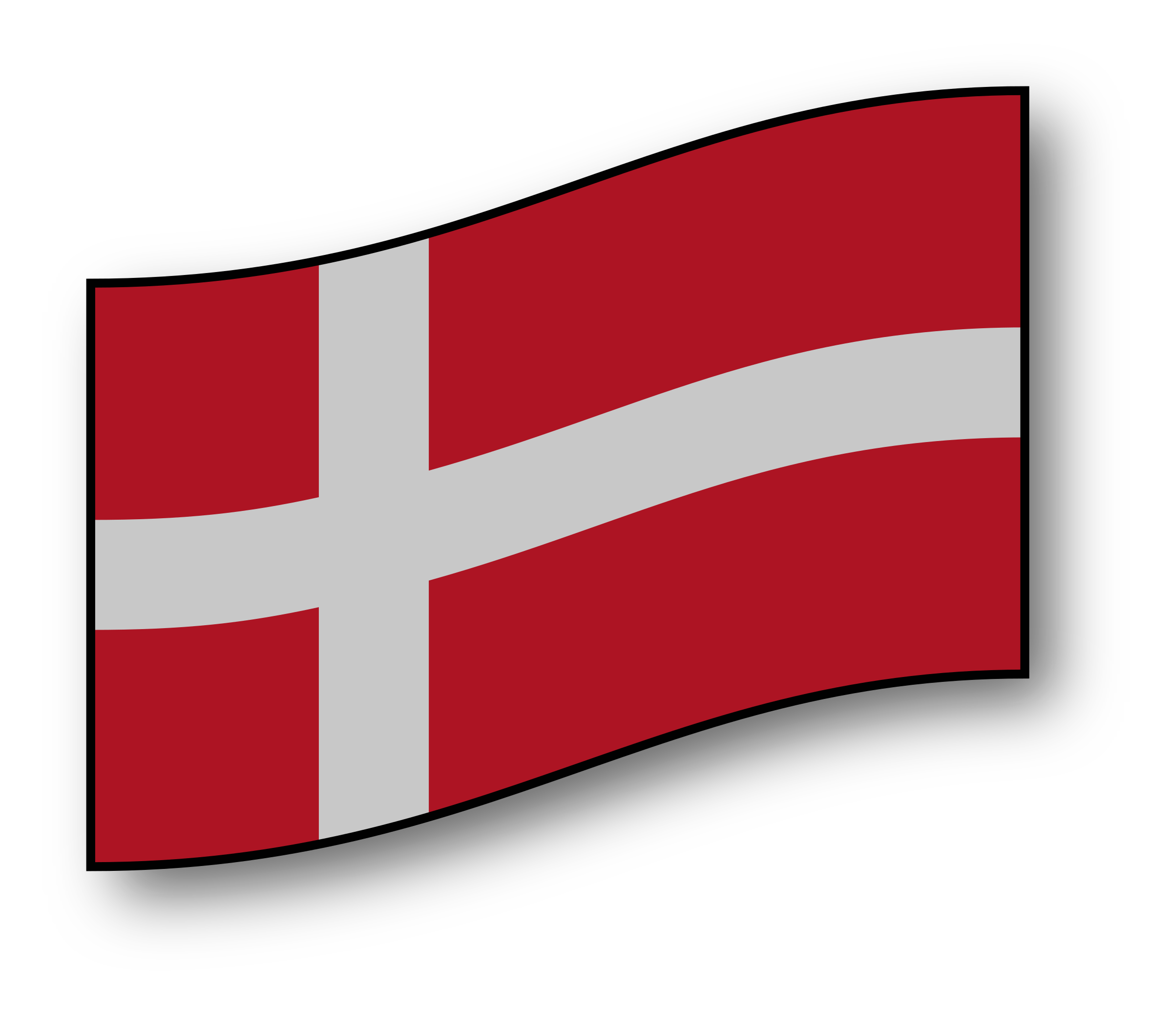 flag of Denmark by GMcGlinn
