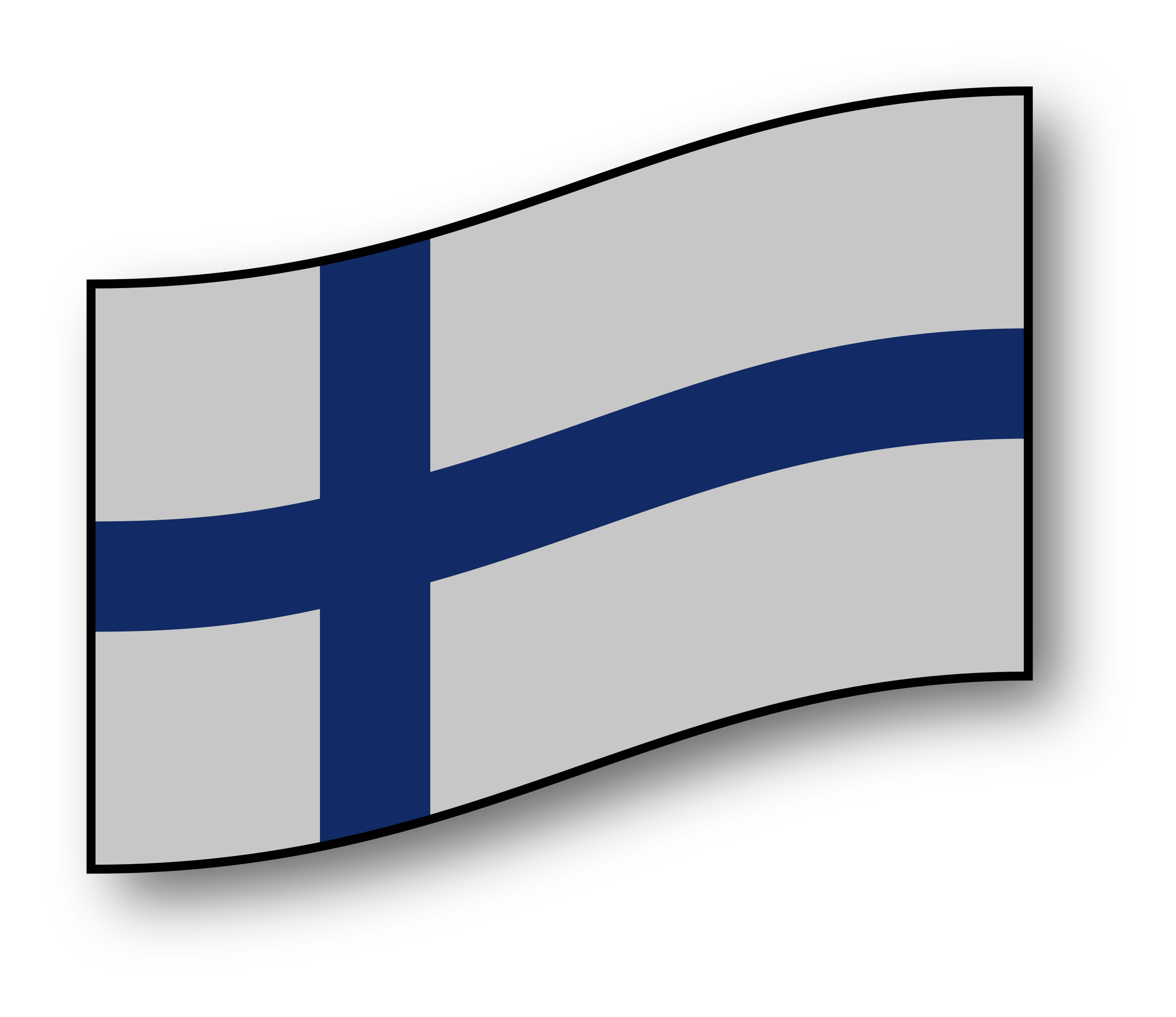 Finland flag by GMcGlinn