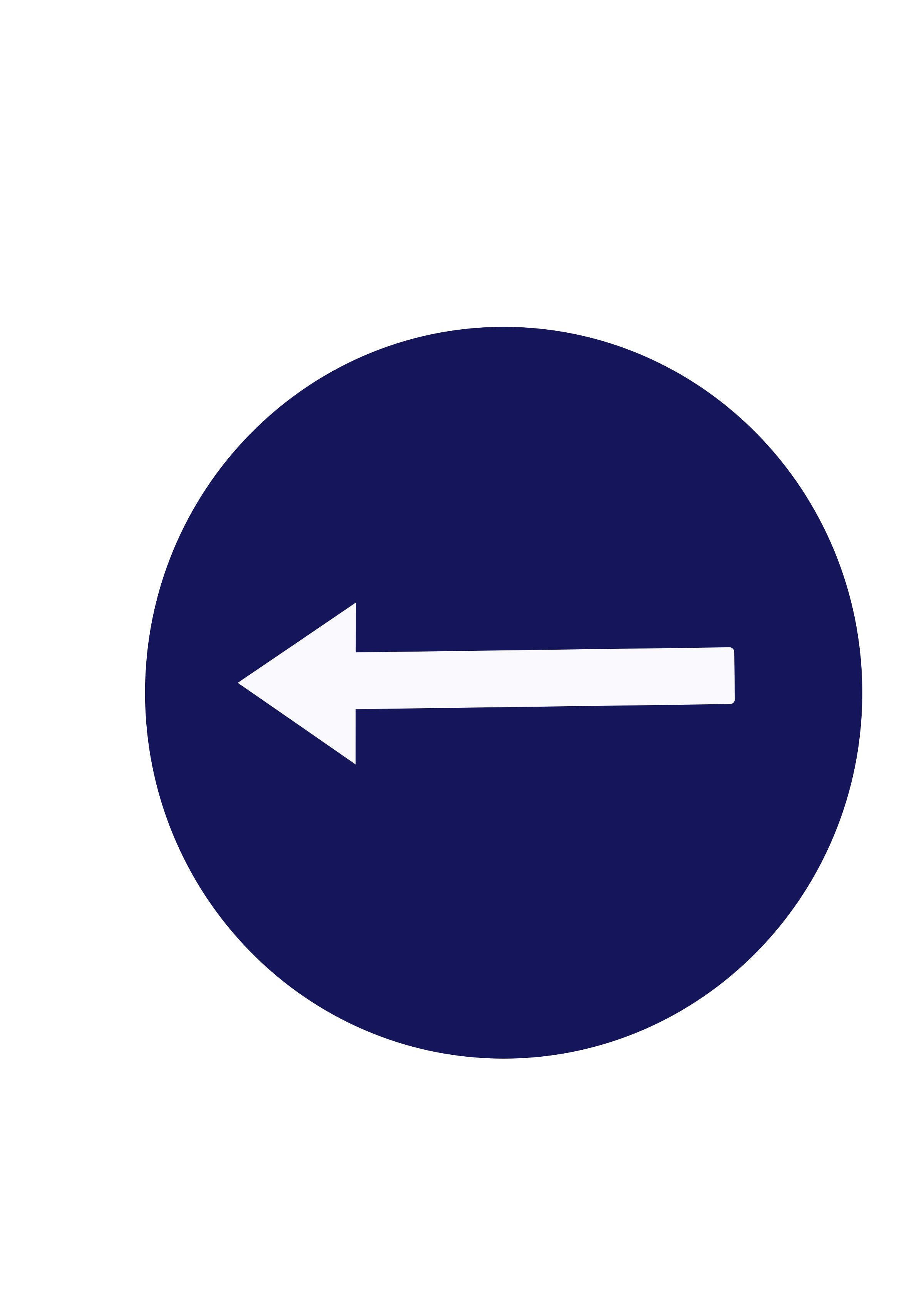 Indian road sign - Compulsory turn left by ksrujana96
