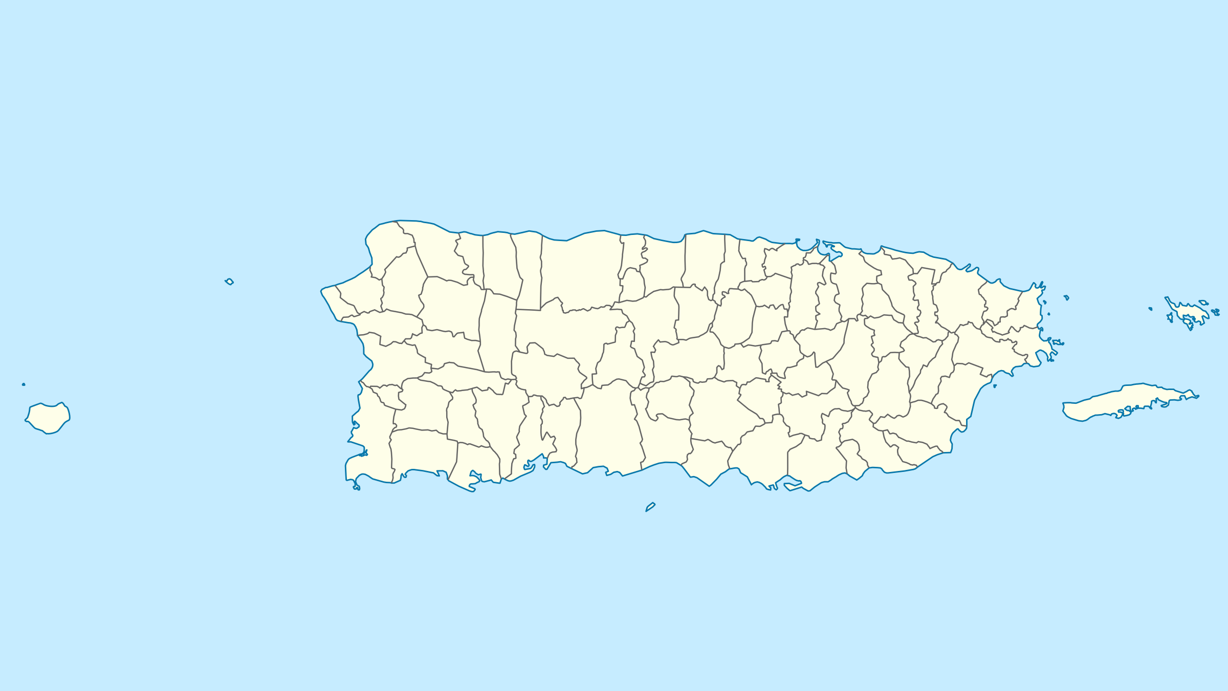 Map Puerto rico by Edhickey