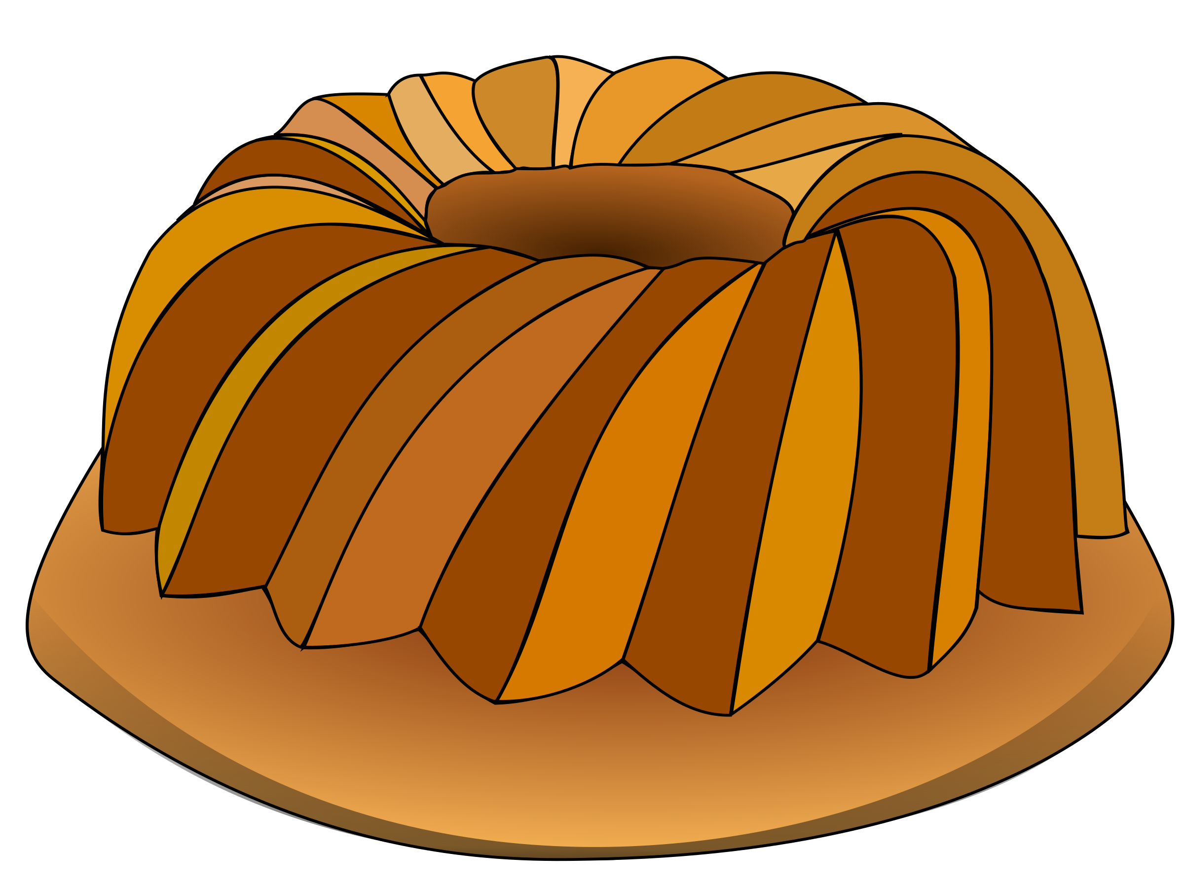 Simple Cake Clipart : Clipart - Cake