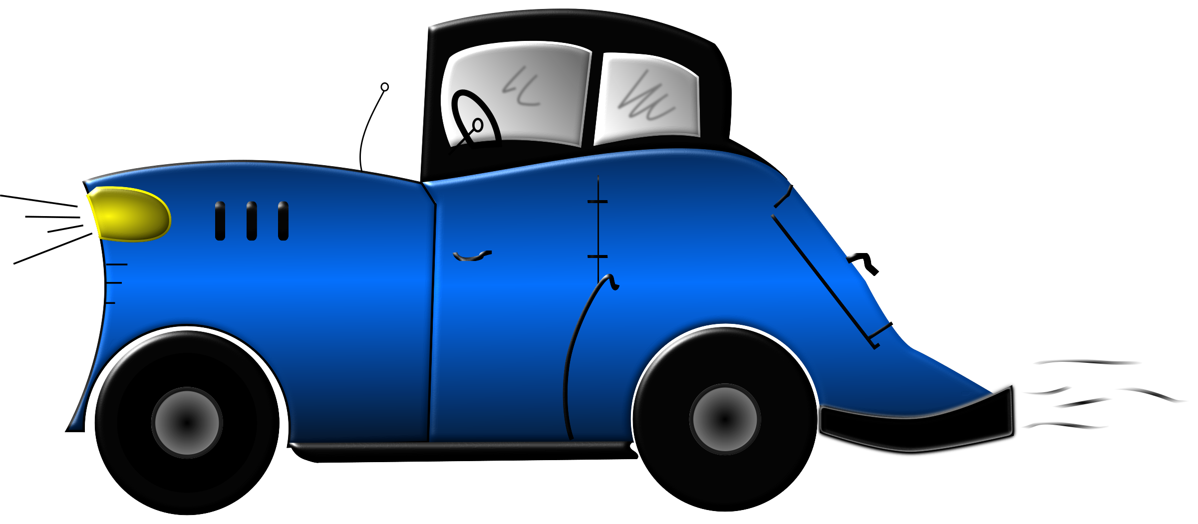 Cartoon Car by mystica