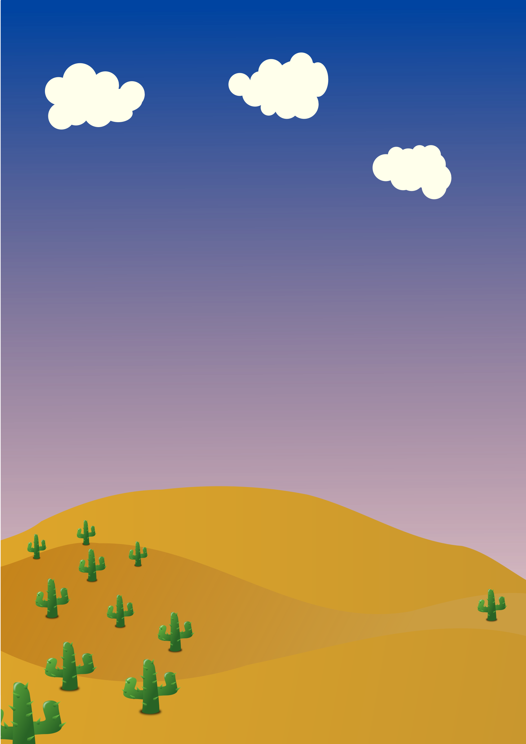 Desert background by hatso1