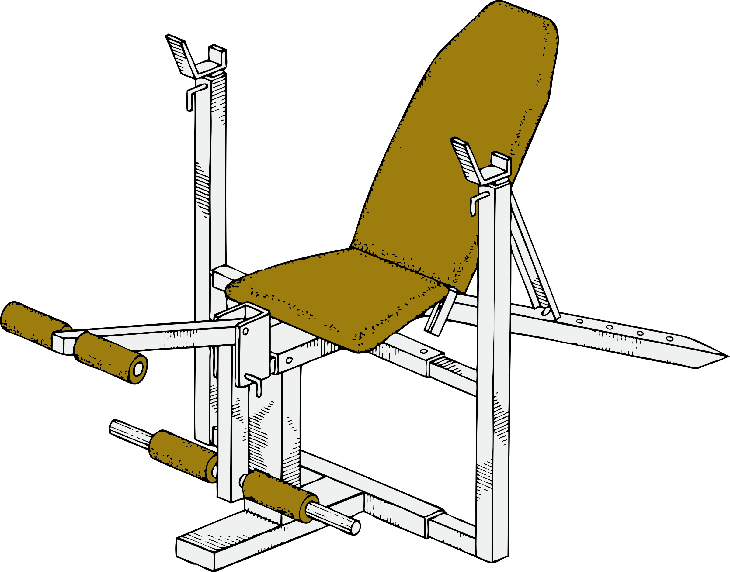 exercise bench by johnny_automatic