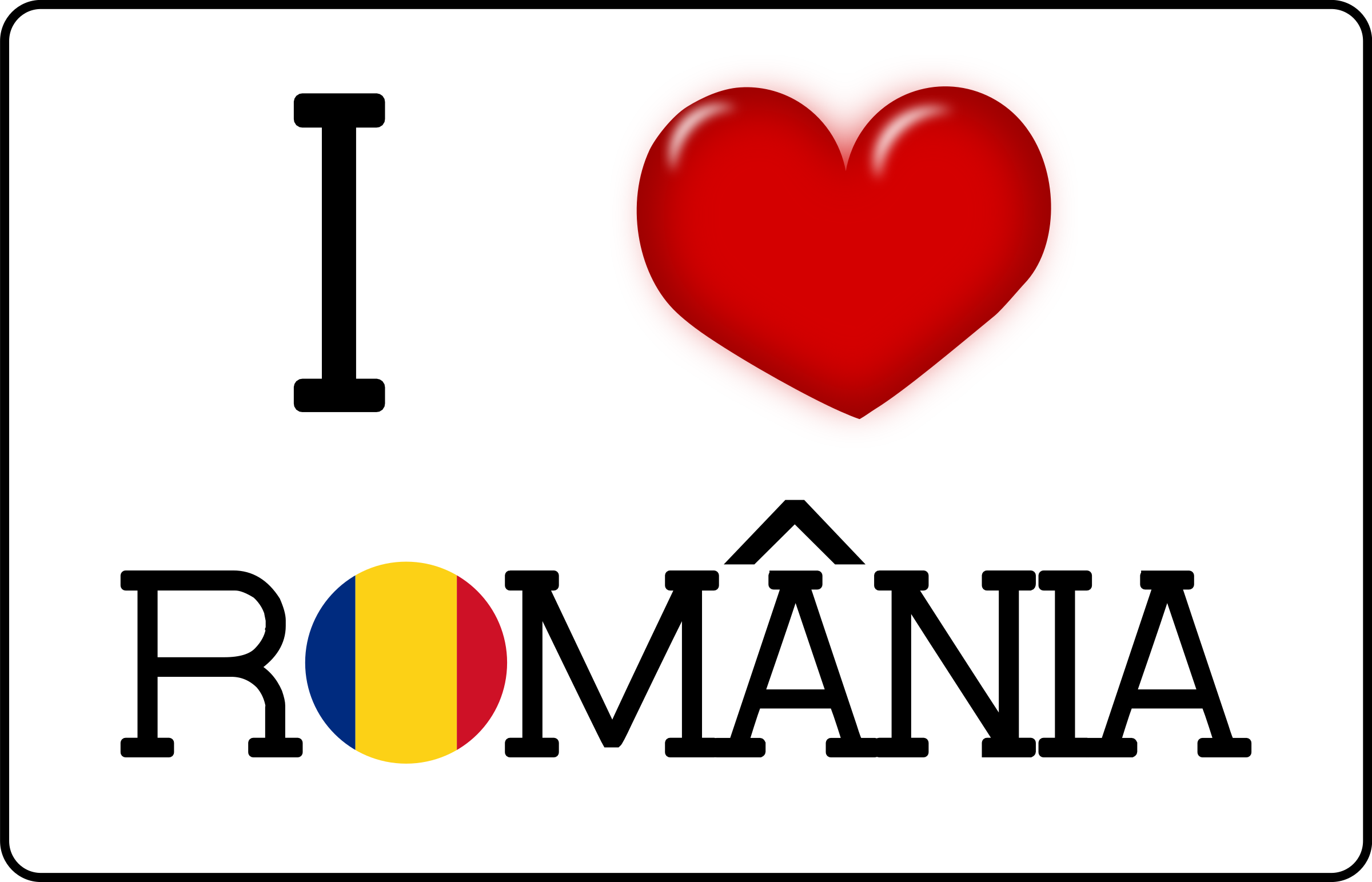 I LOVE Romania by SOlvera
