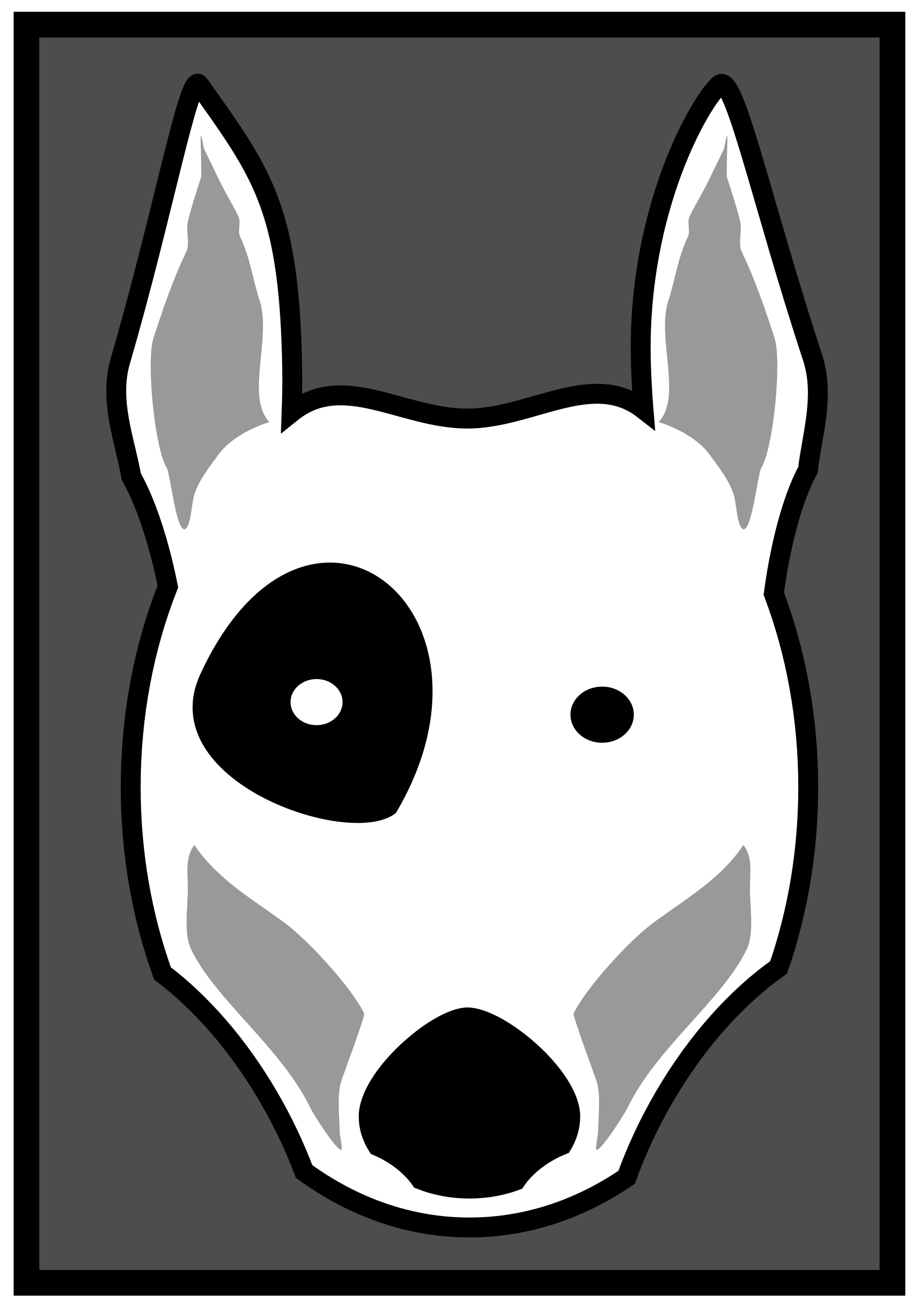 Bull Terrier by aungkarns