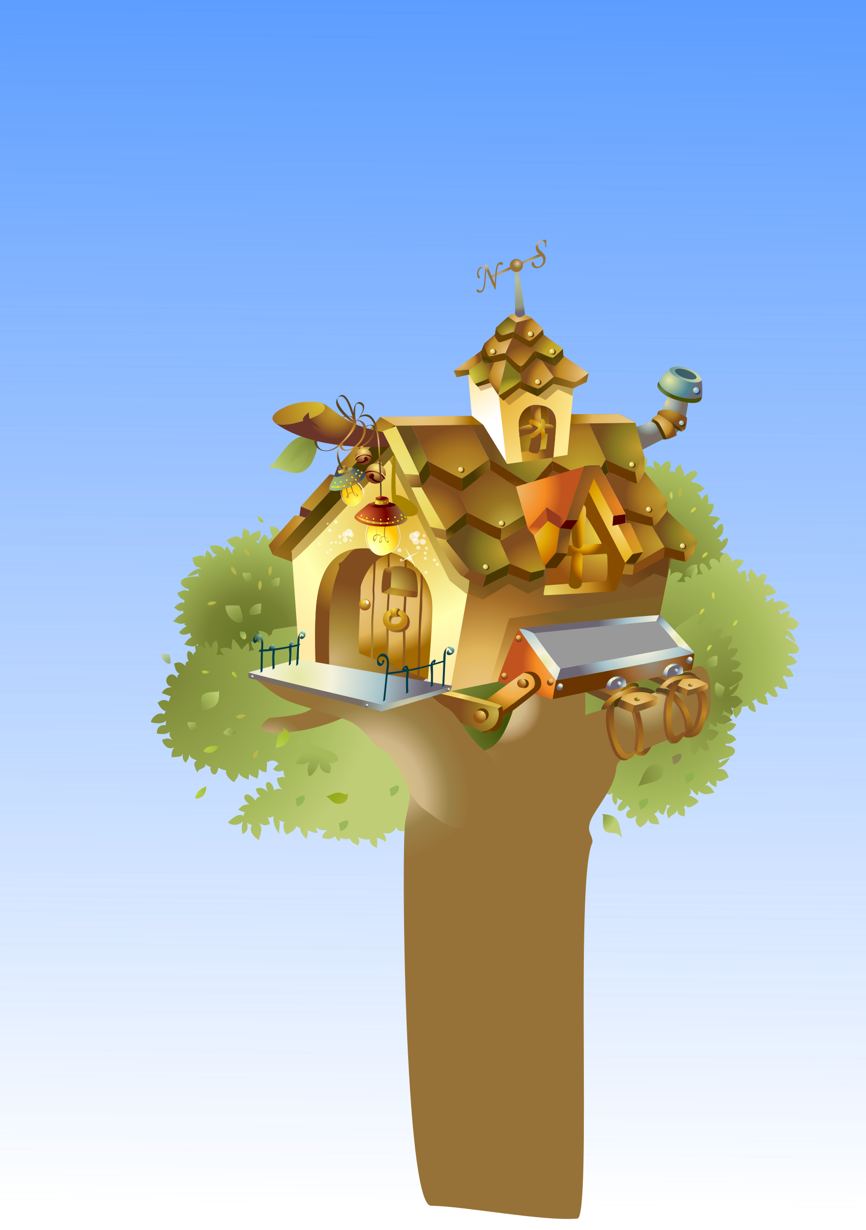 house in tree by sammo241