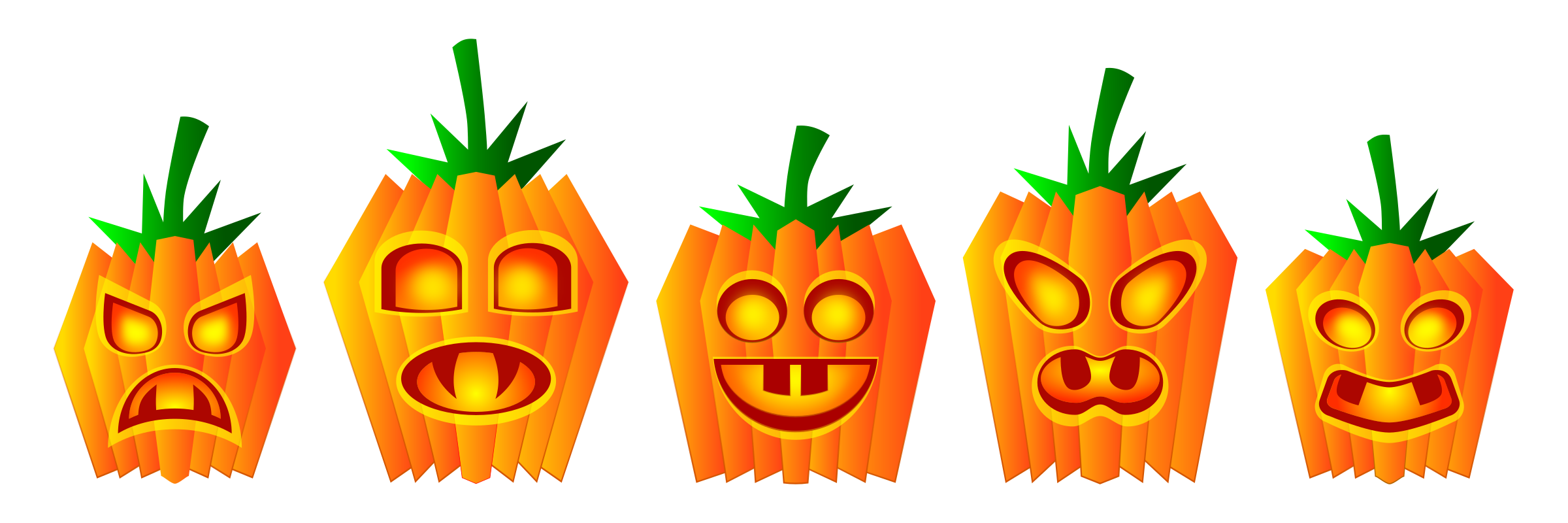 Halloween Pumpkins by Viscious-Speed