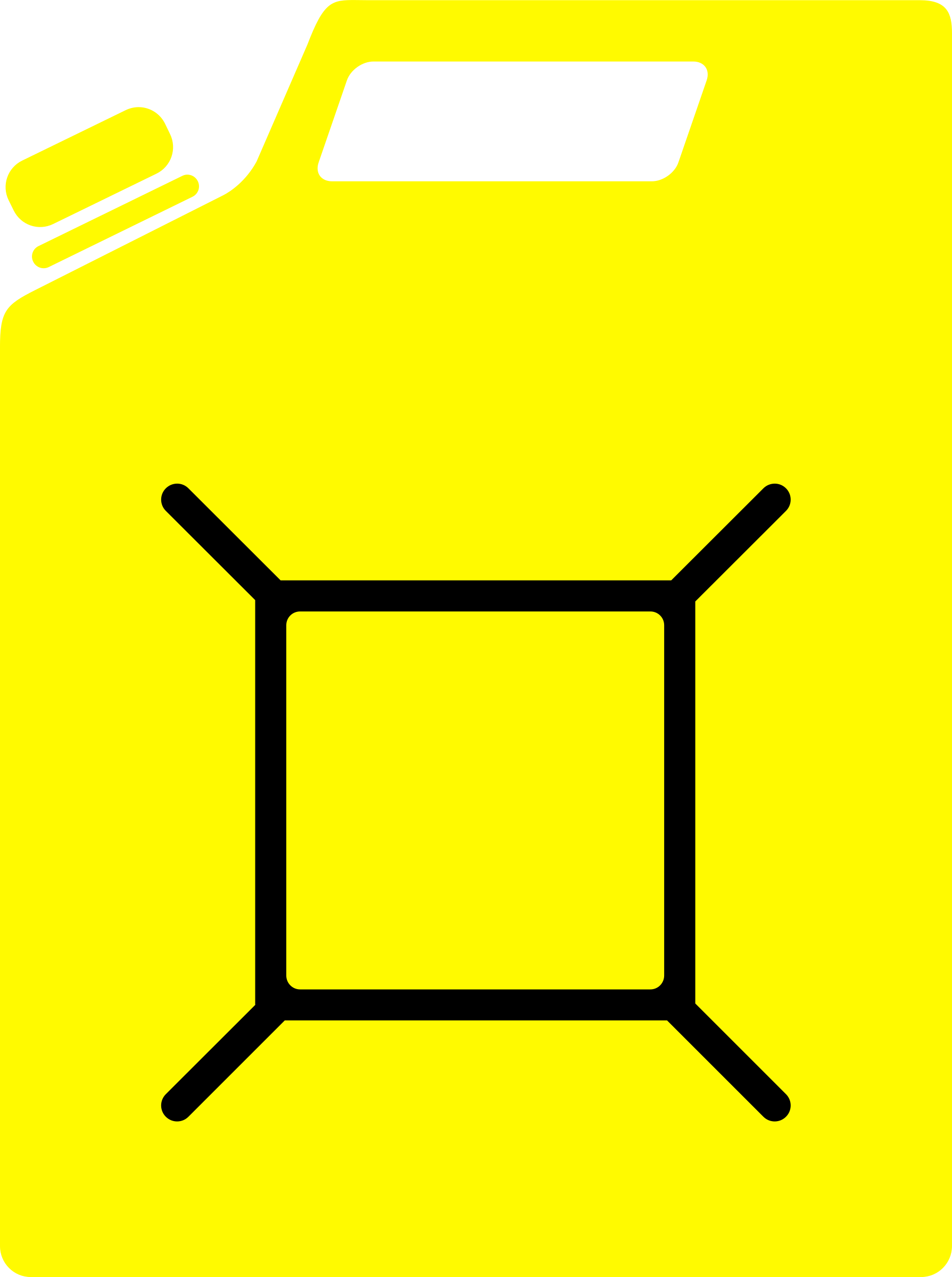 Jerrycan yellow by eternaltyro