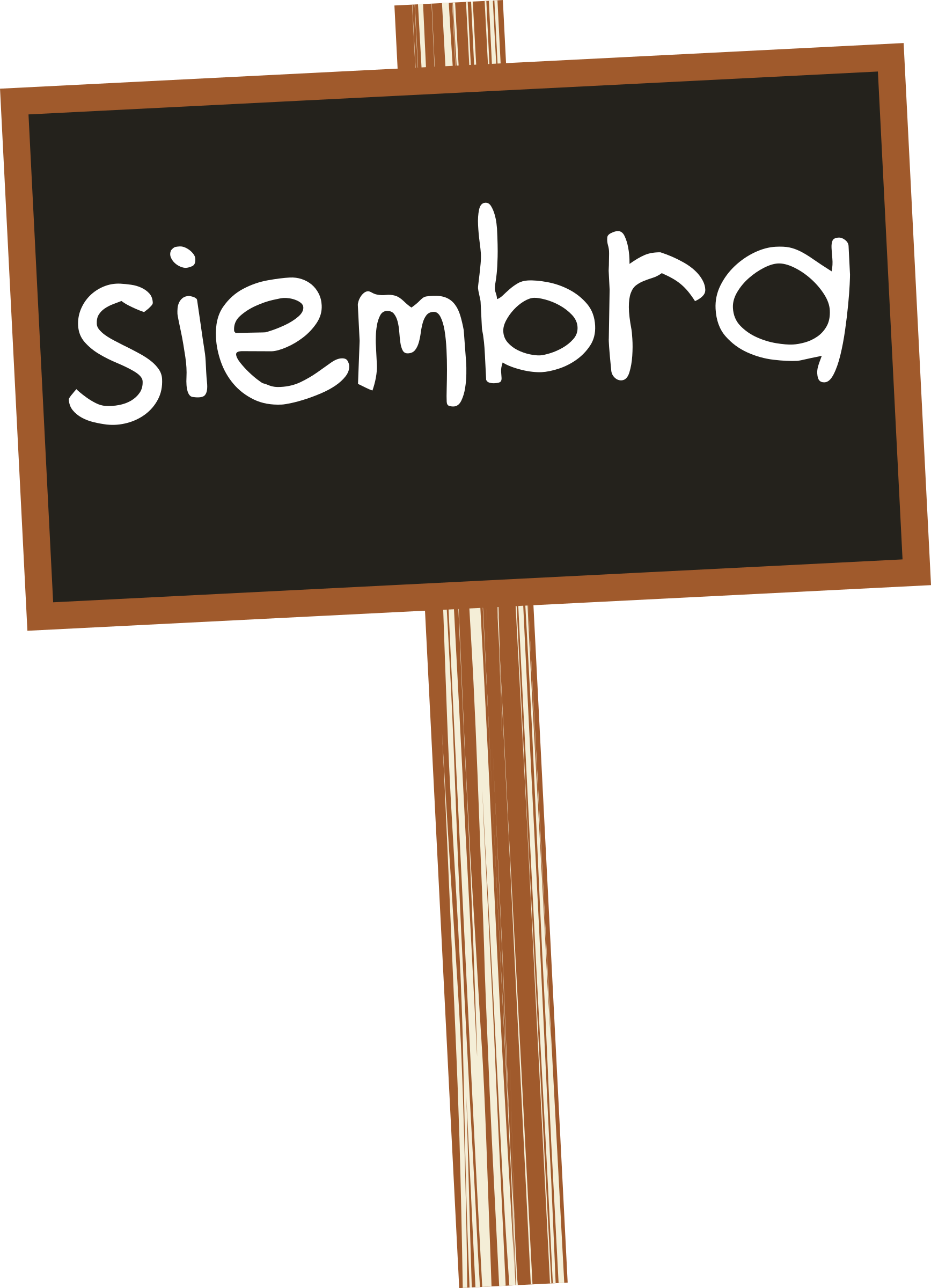 Pizarra, blackboard by mediobit