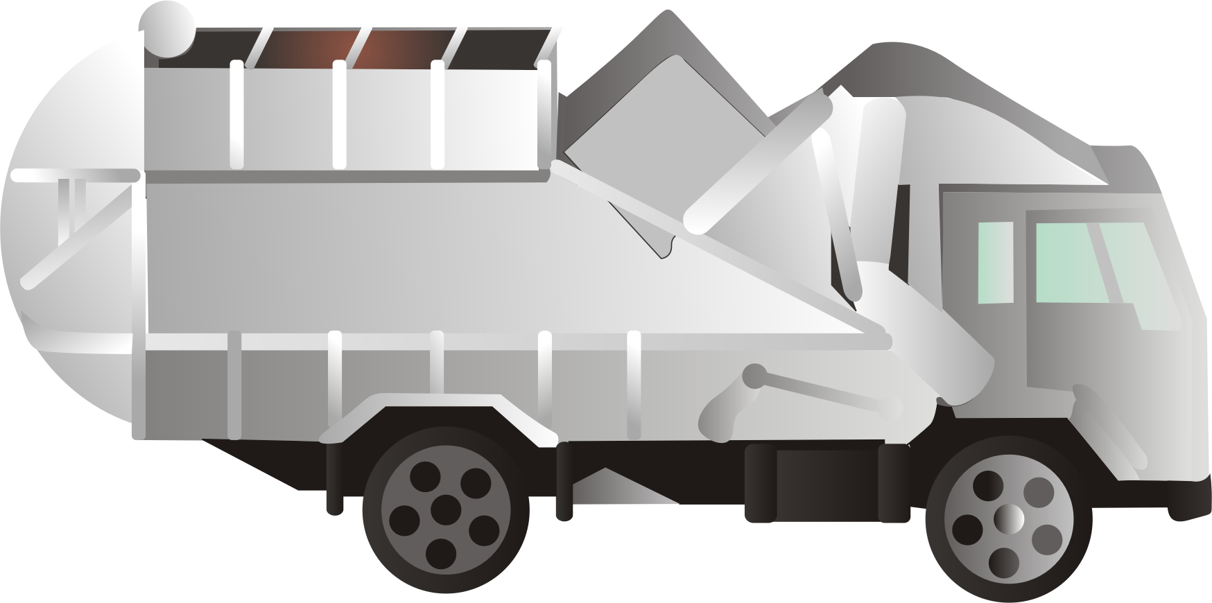 Clip Art Garbage Truck Clipart clipart garbage truck big image png