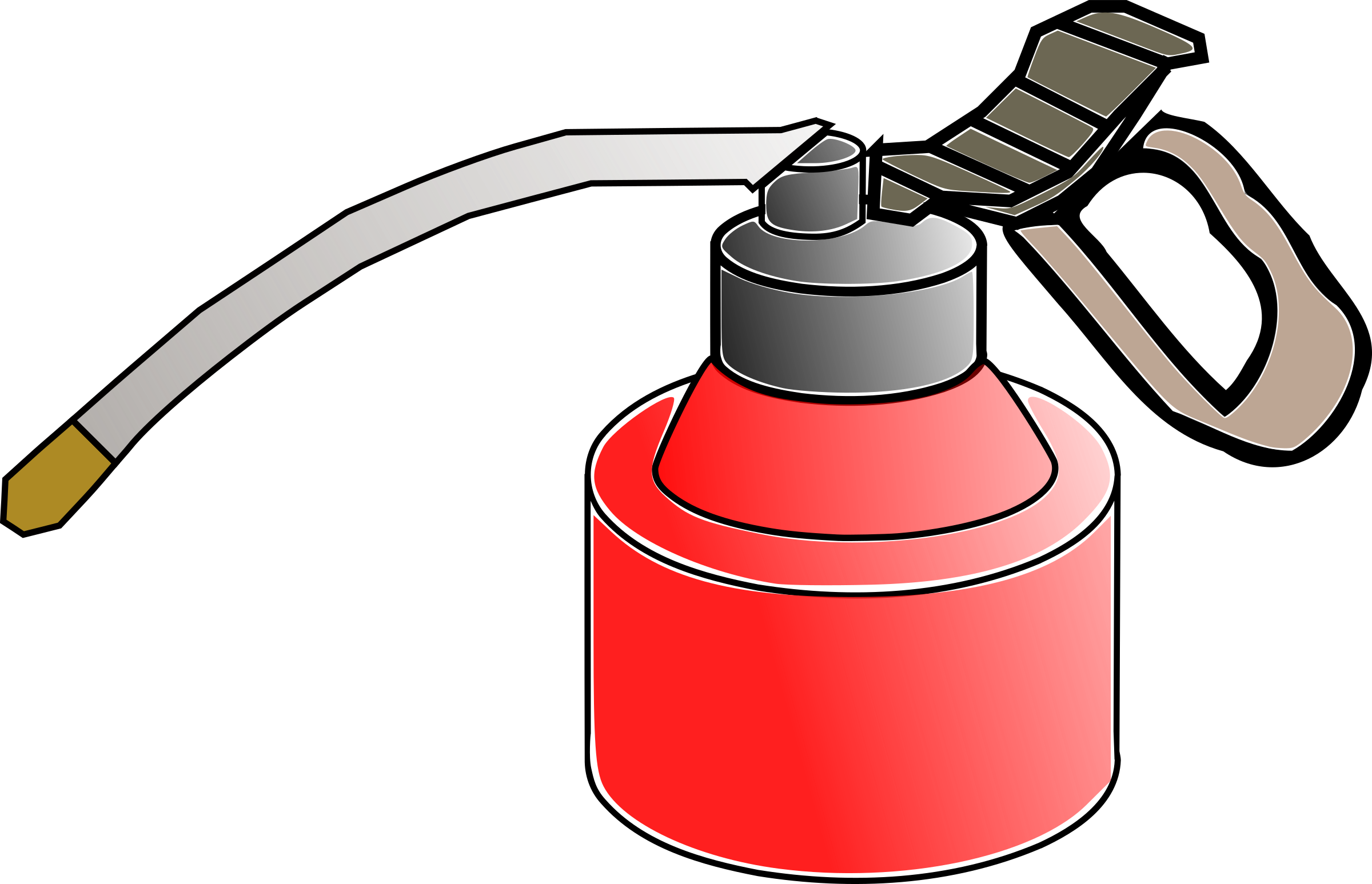 Clipart - oil can