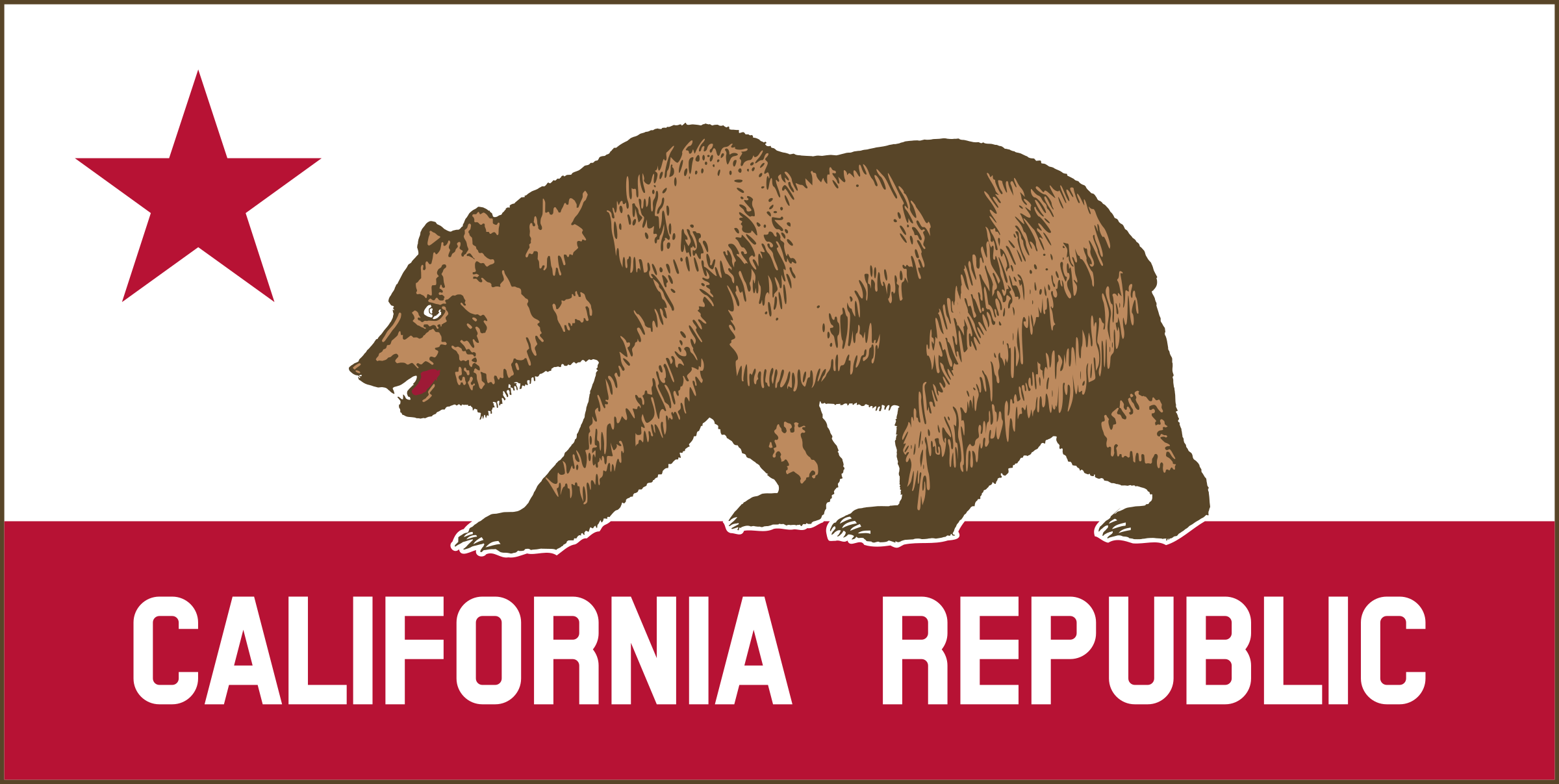 California Banner Clipart A by DevinCook