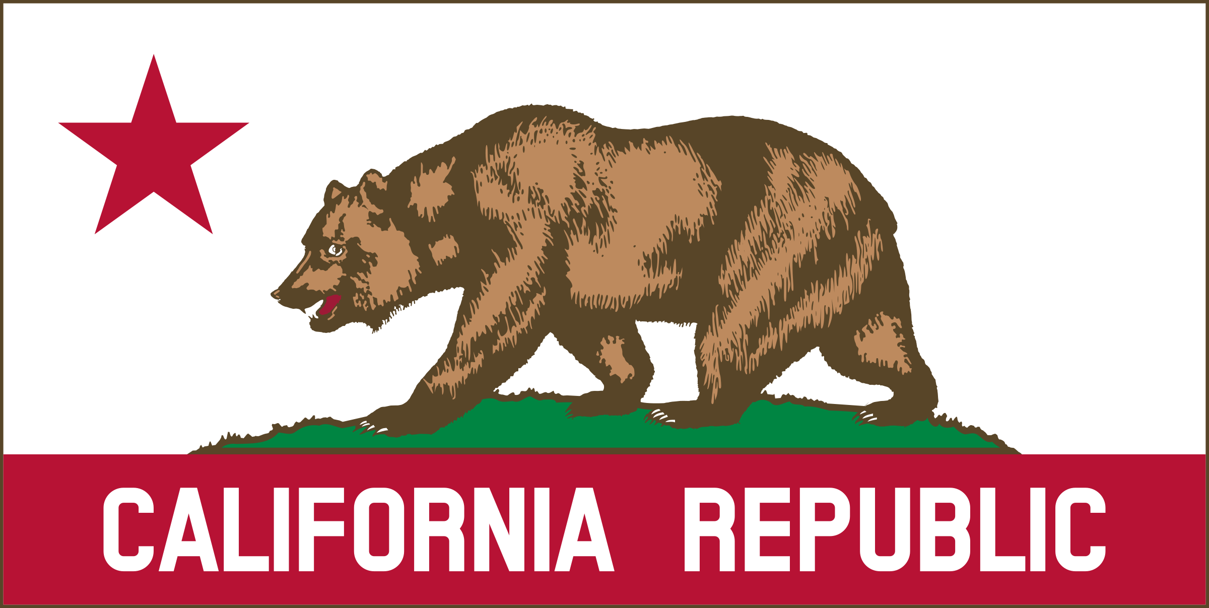 California Banner Clipart B   by DevinCook