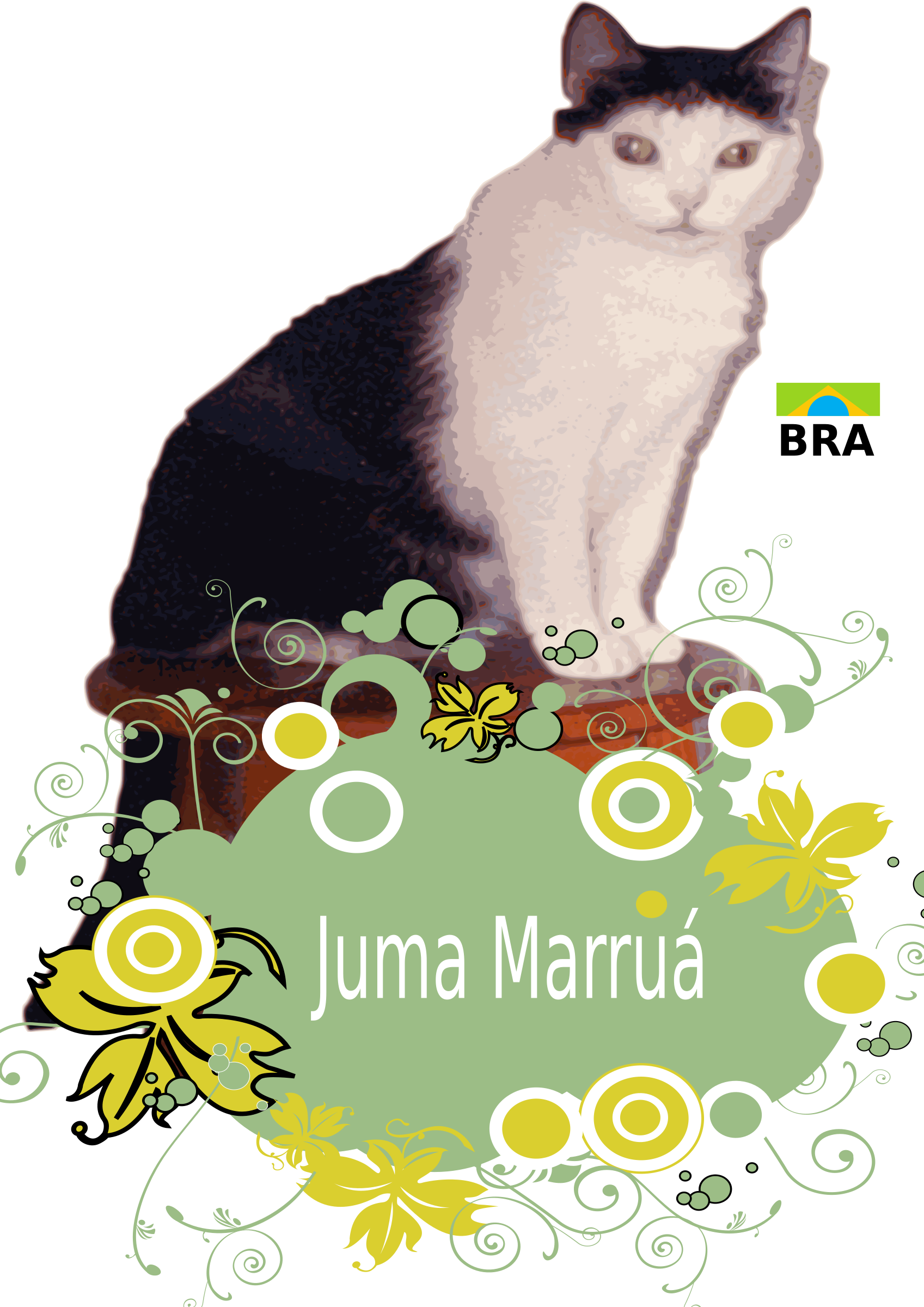 Juma Marruá with flowers by Karolus_BR