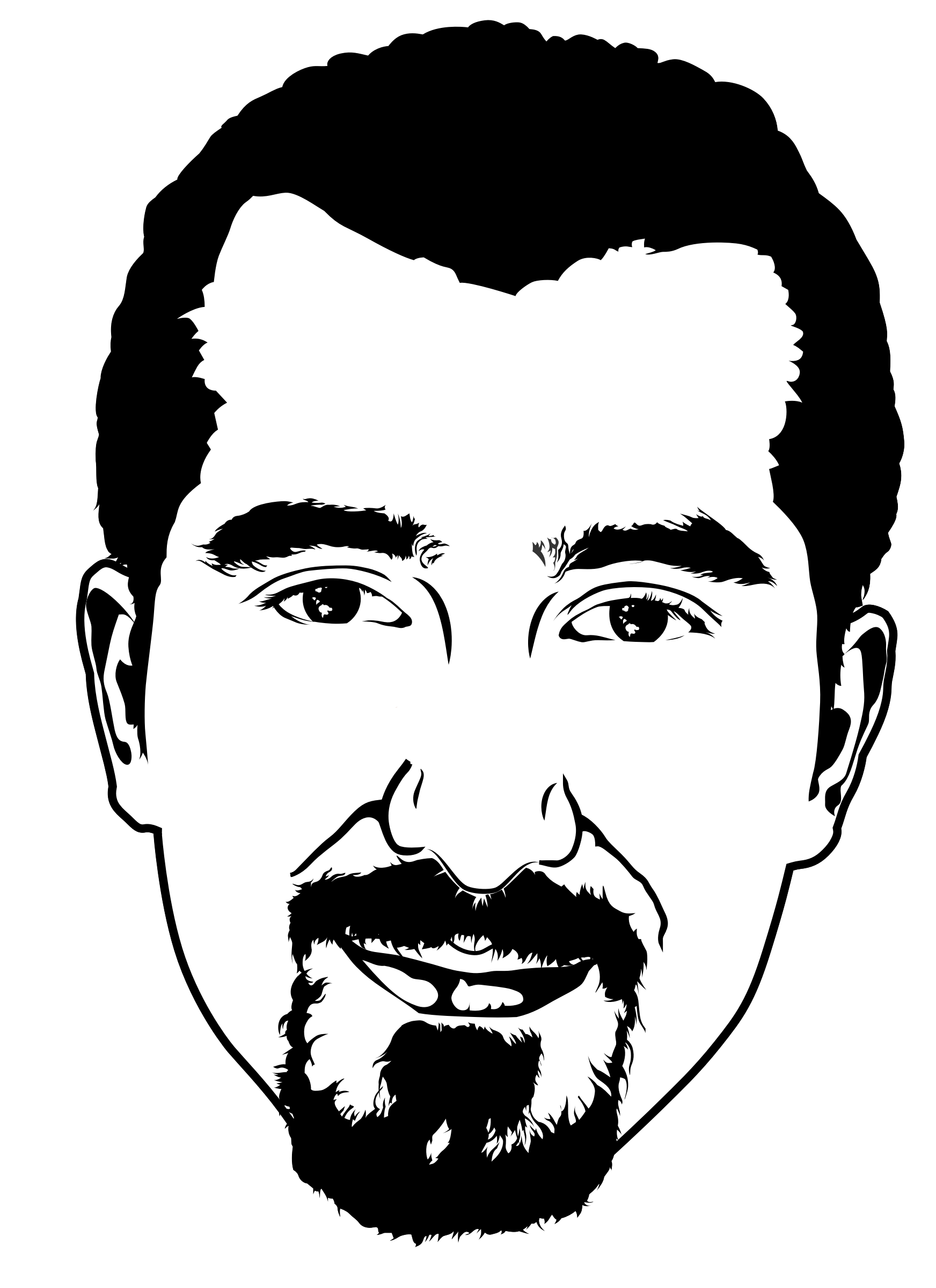 Bassel Stencil by pianoBrad