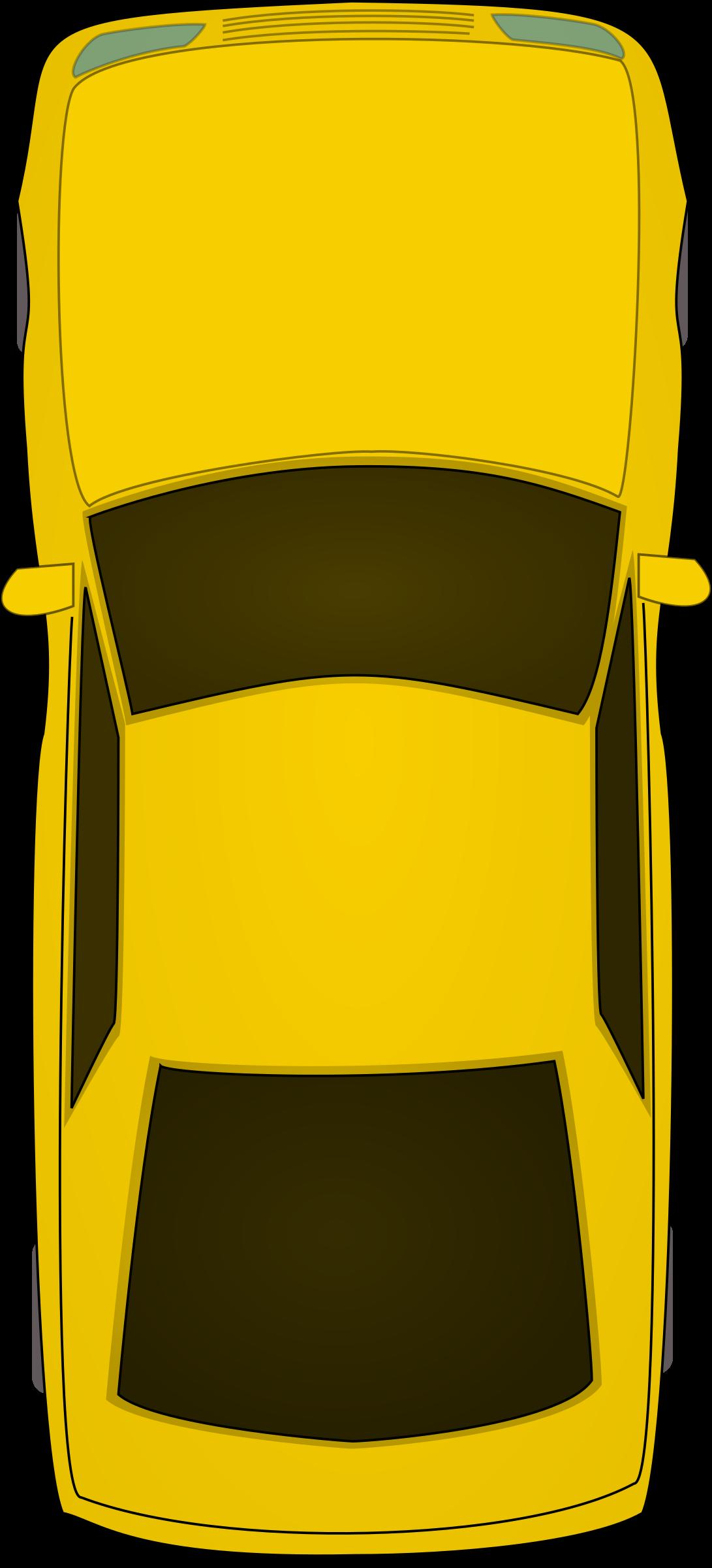 clipart top view car