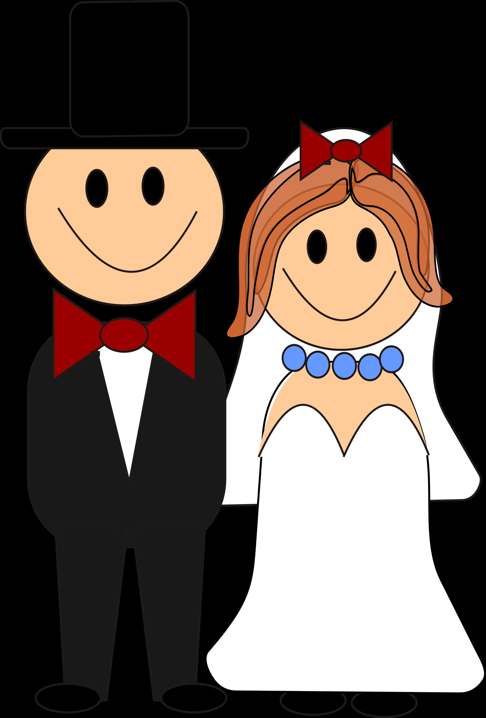 Clipart Brautpaar