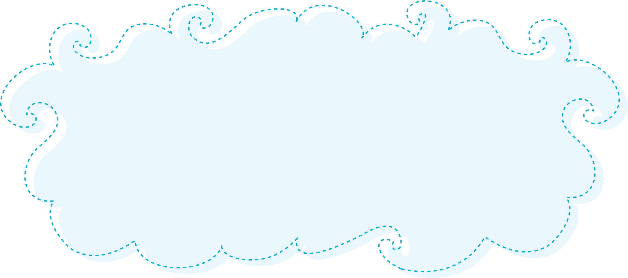 Blue Clouds Clipart by Konand