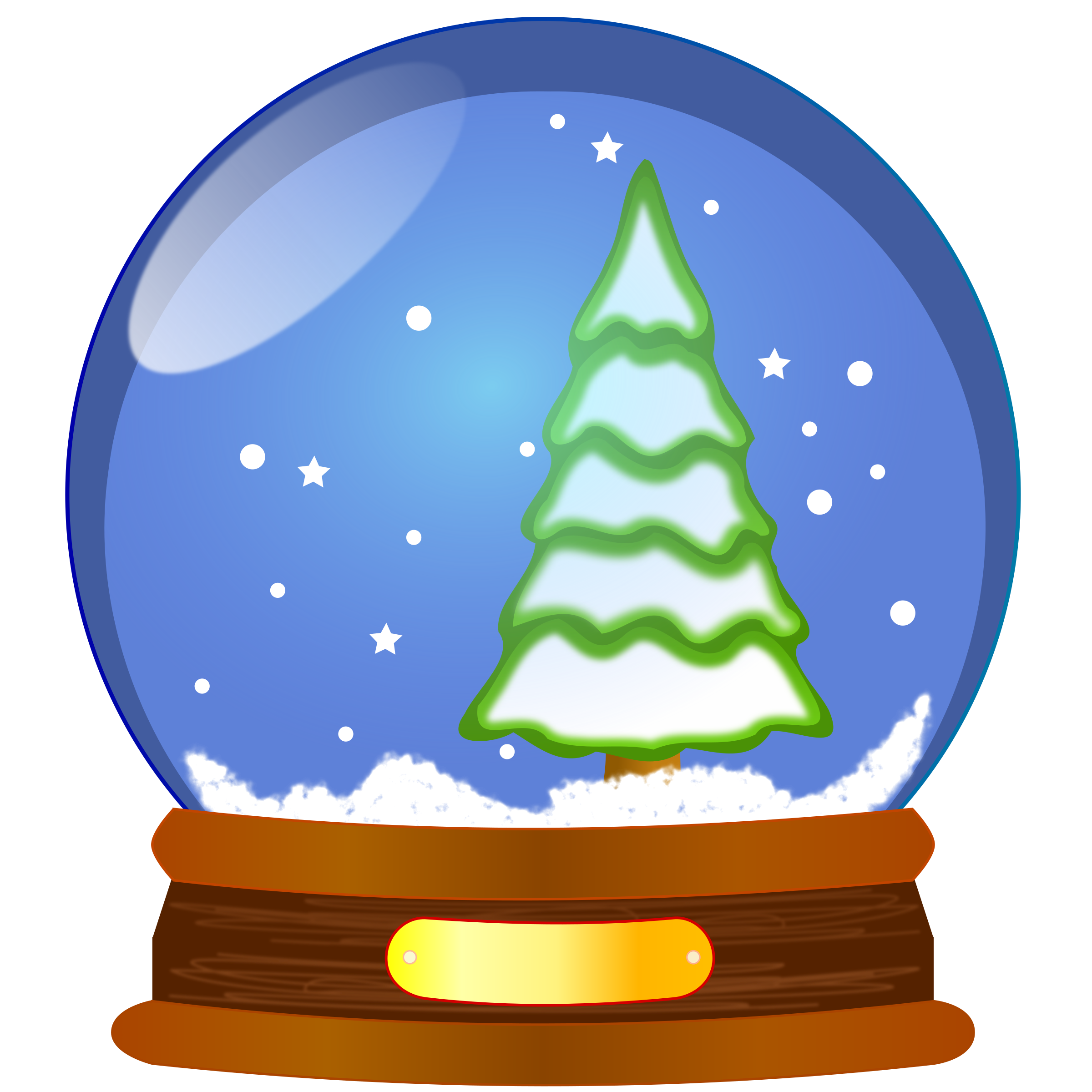 snow globe by uwesch