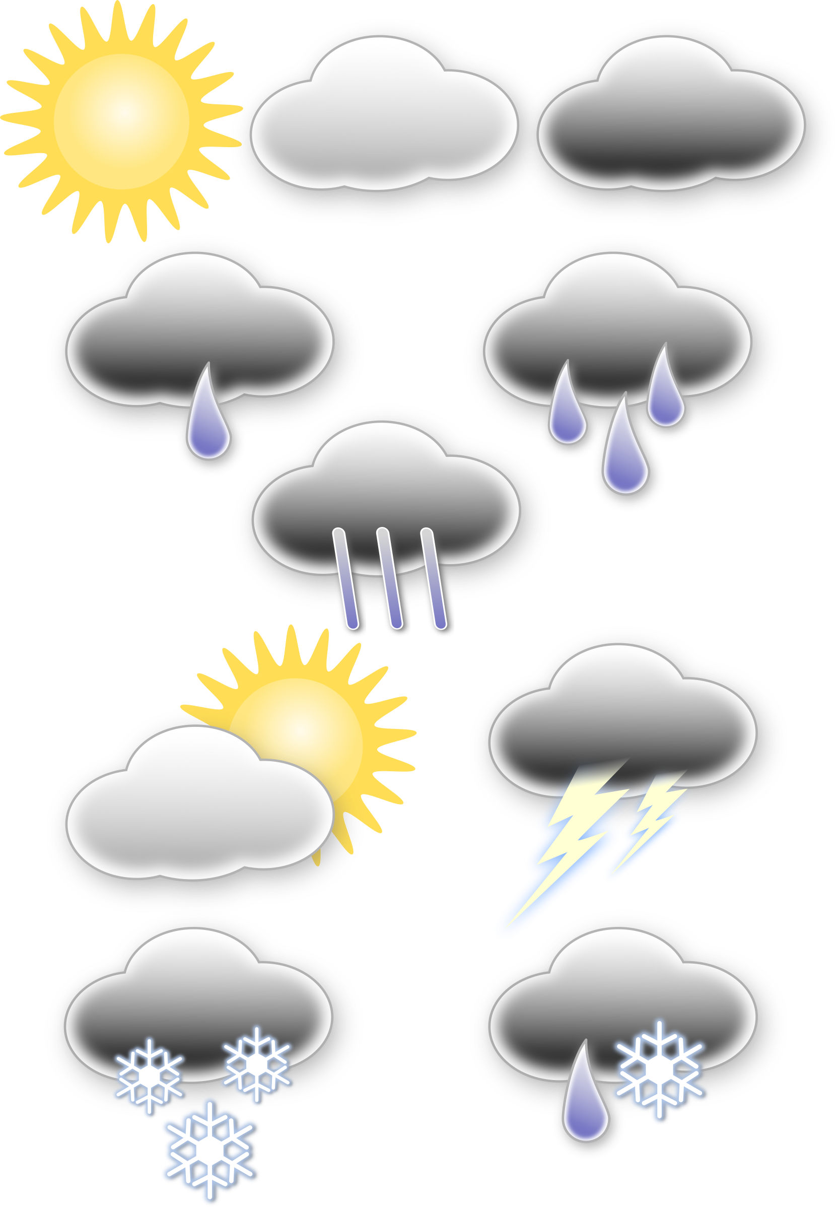 Weather symbols by opk