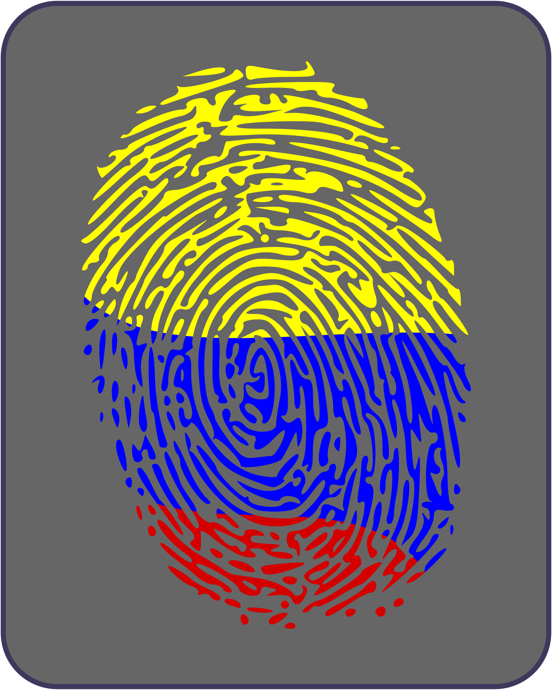 Colombian Fingerprint by f1franz