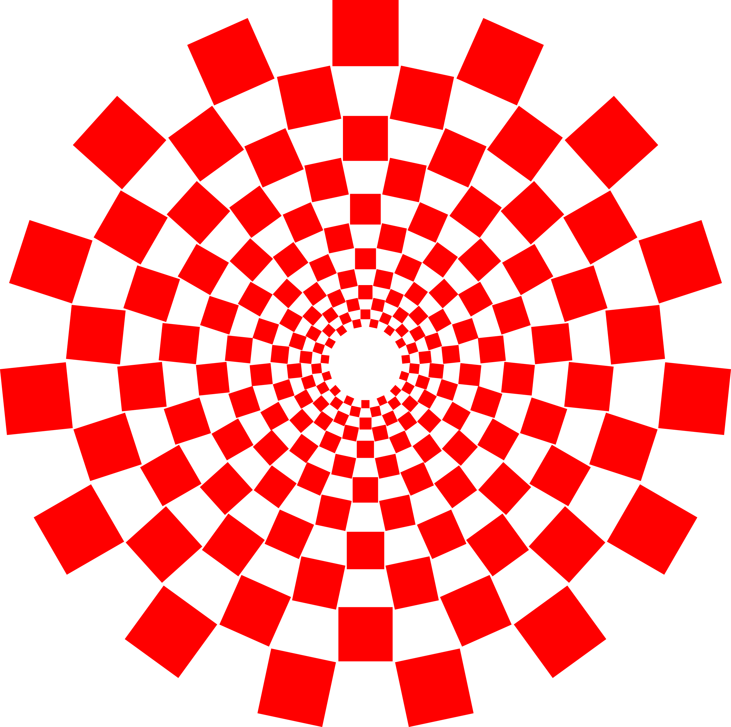 Optical Illusion Spiral by algotruneman