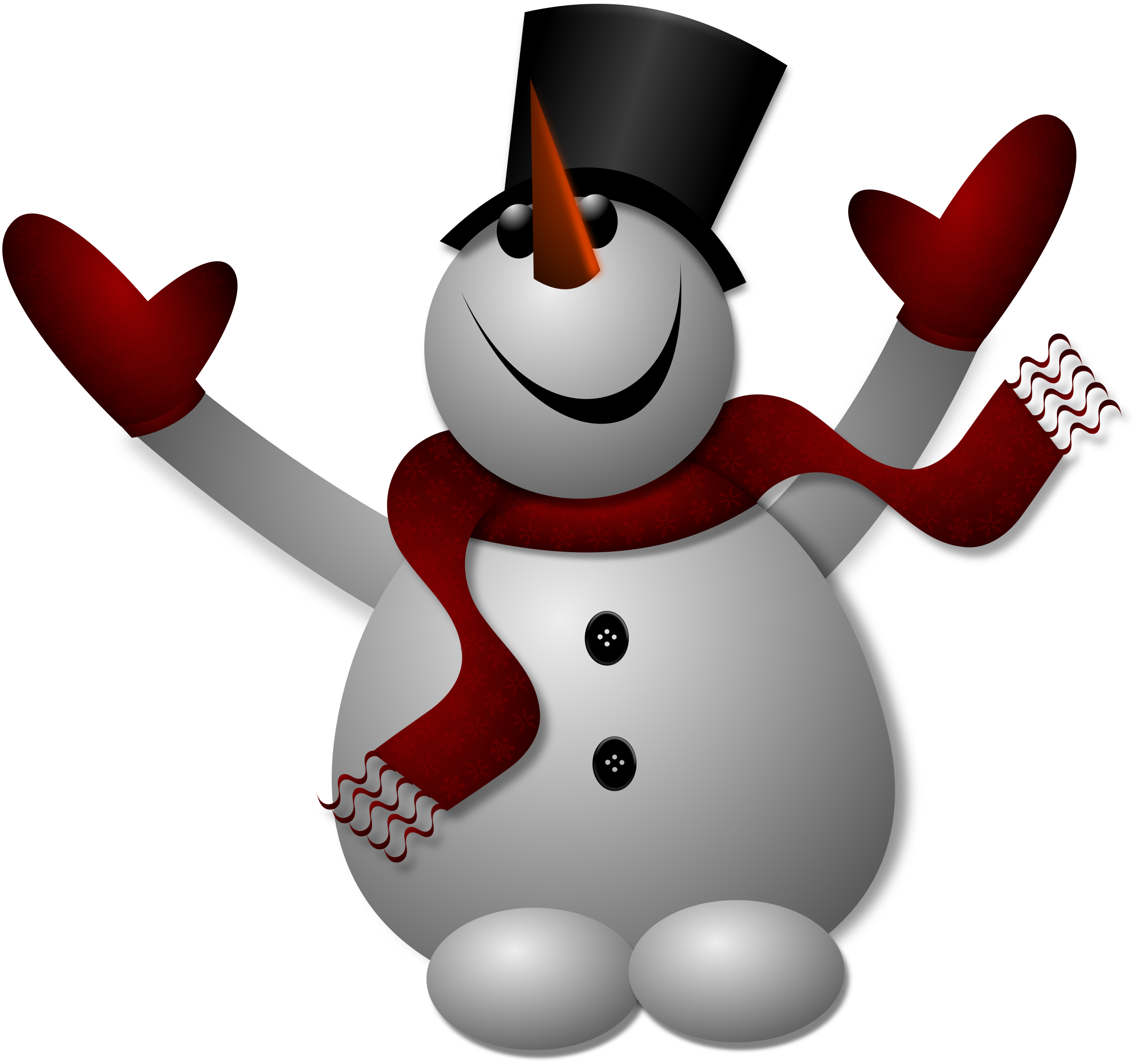 Happy Snowman 1 by Merlin2525