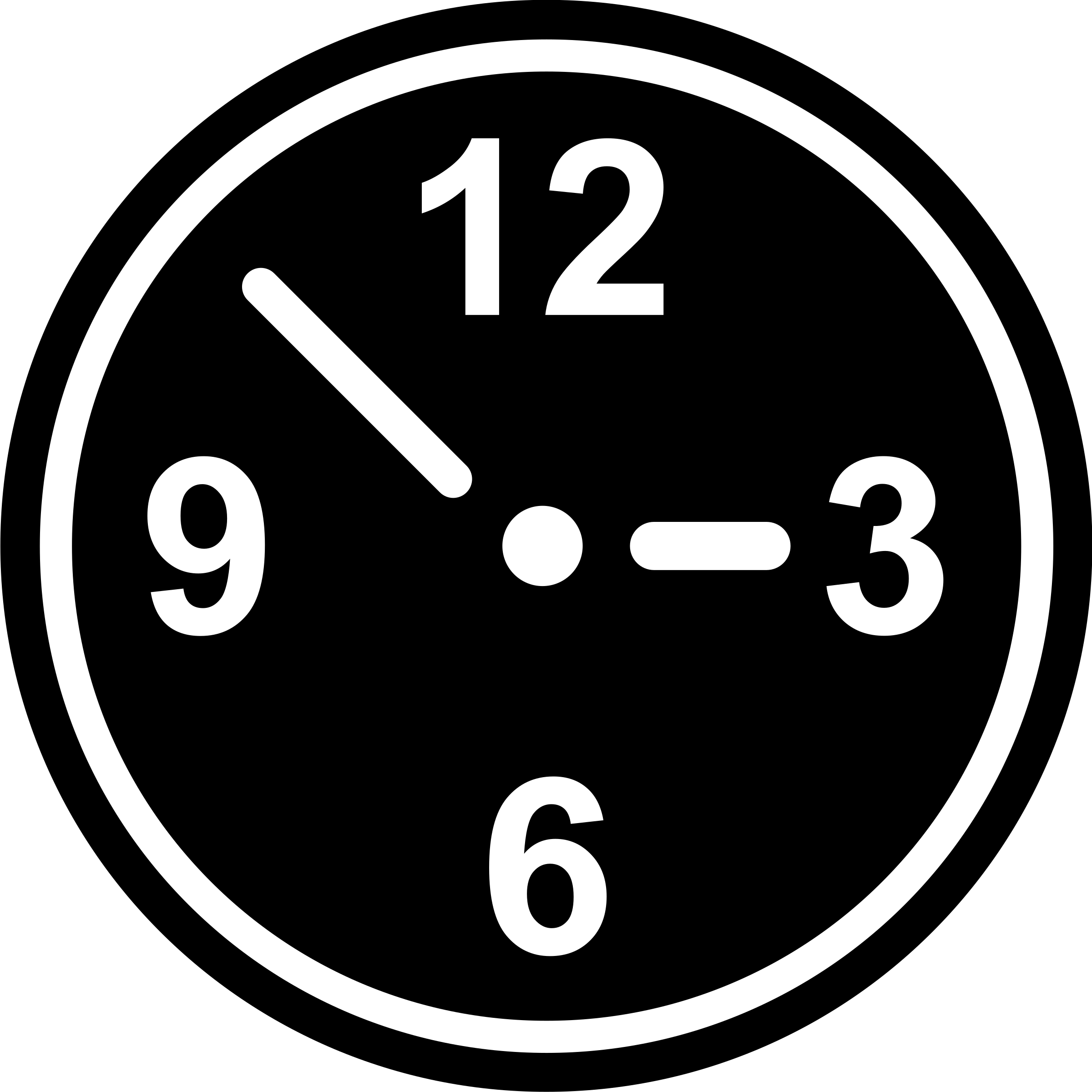 Clock Pictogram by libberry