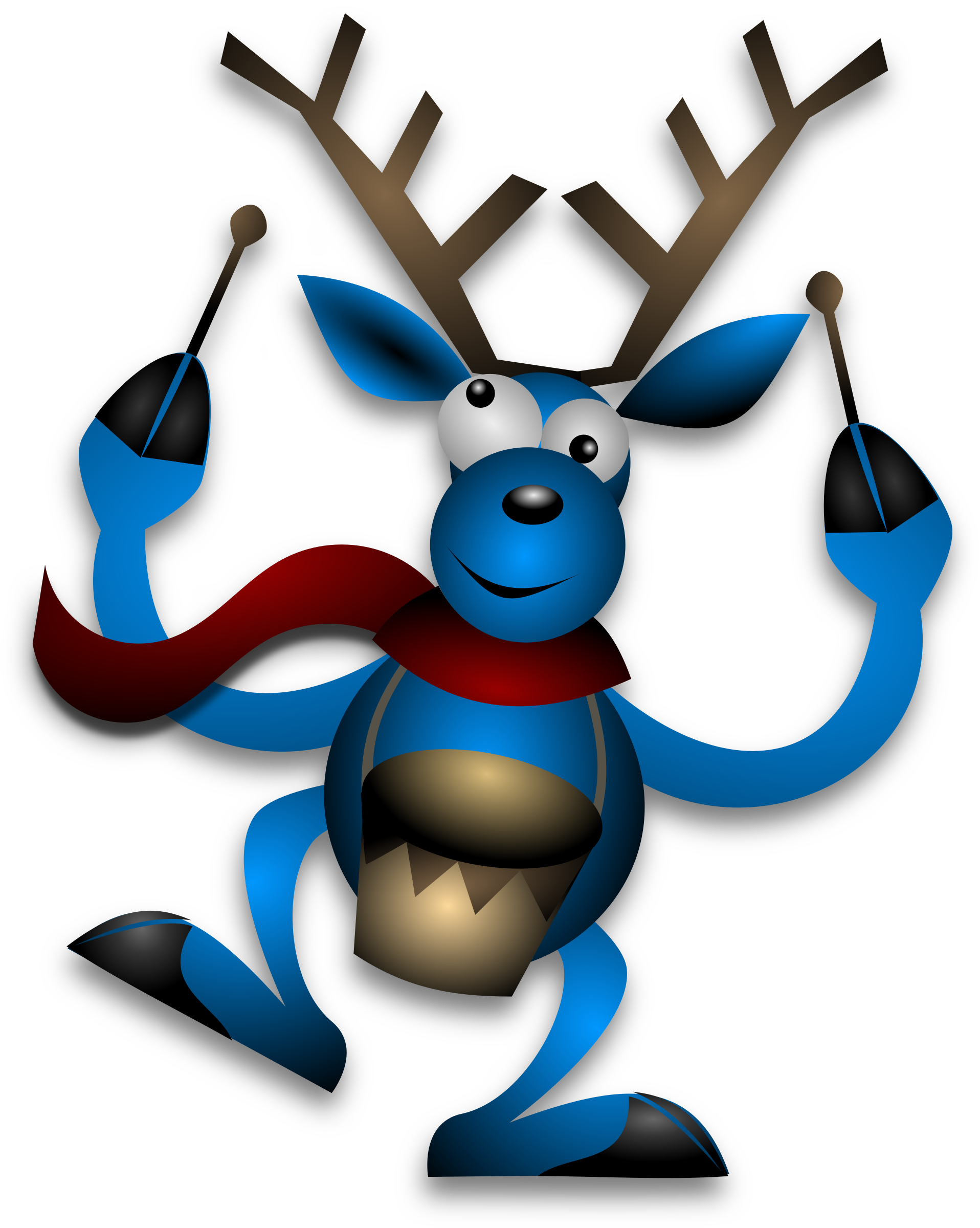 Dancing Reindeer 2 by Merlin2525