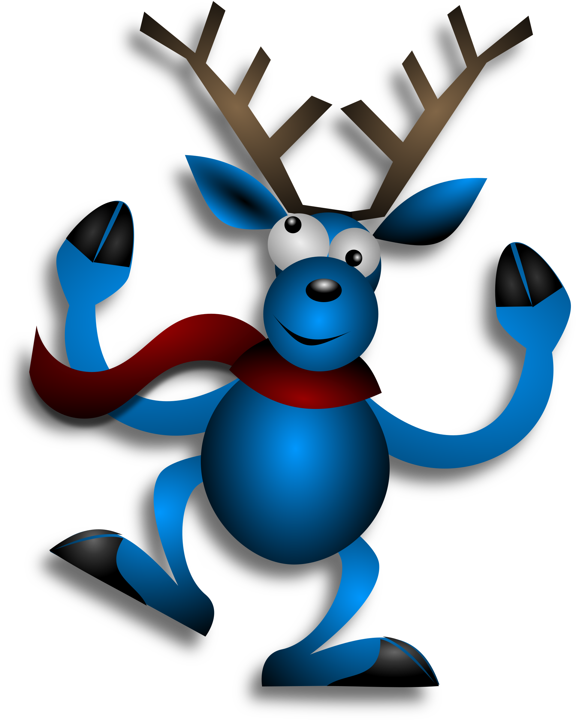 Dancing Reindeer 3 by Merlin2525