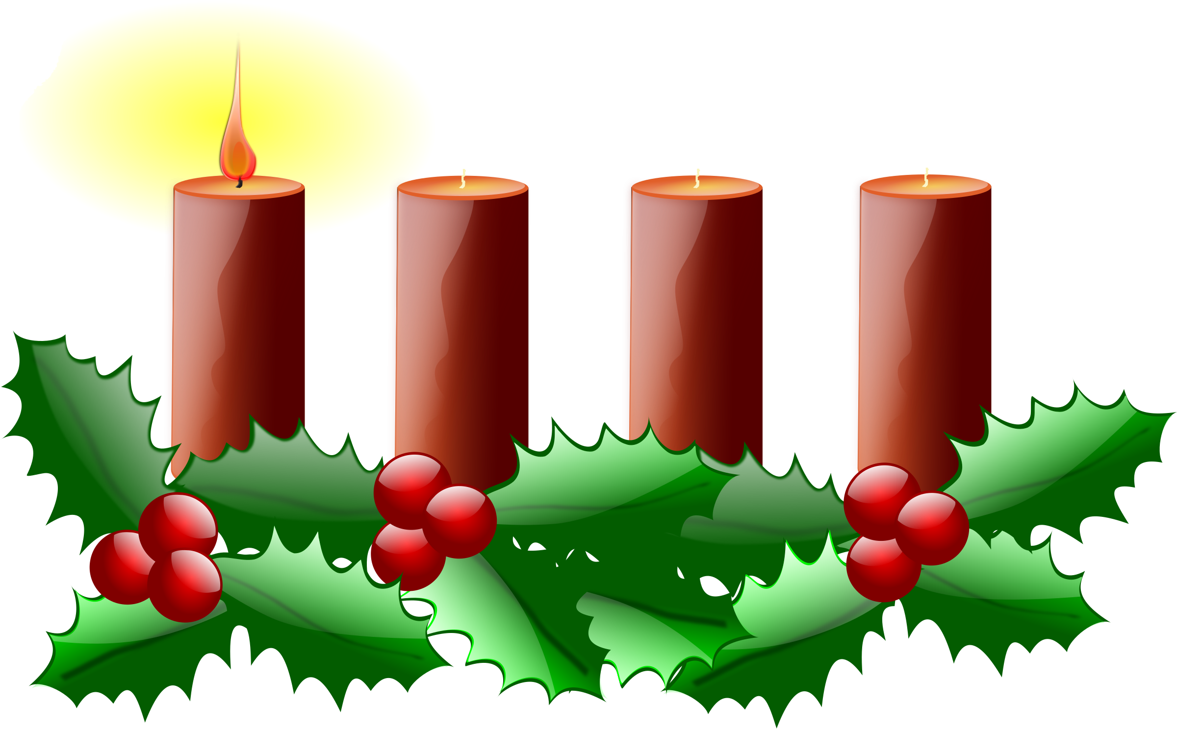clipart first sunday of advent rh openclipart org advent wreath clipart black and white advent wreath clipart free