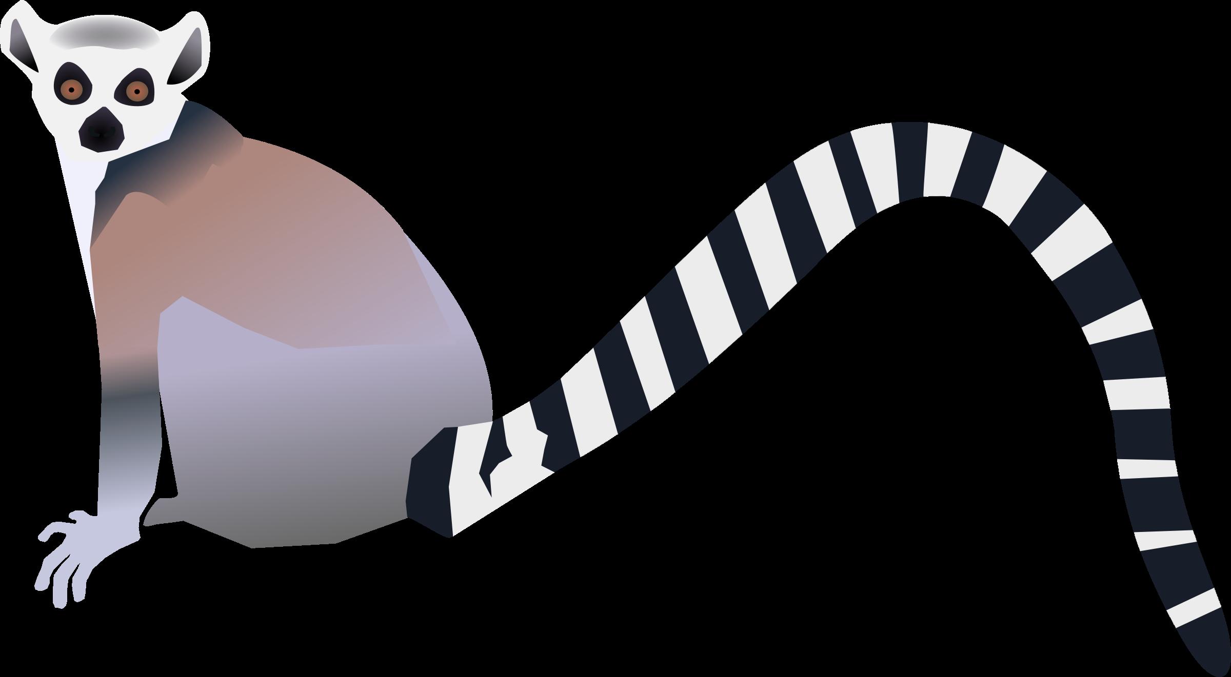 clipart lemur lemurien Lemur Volleyball Cliparts lemur clip art black and white