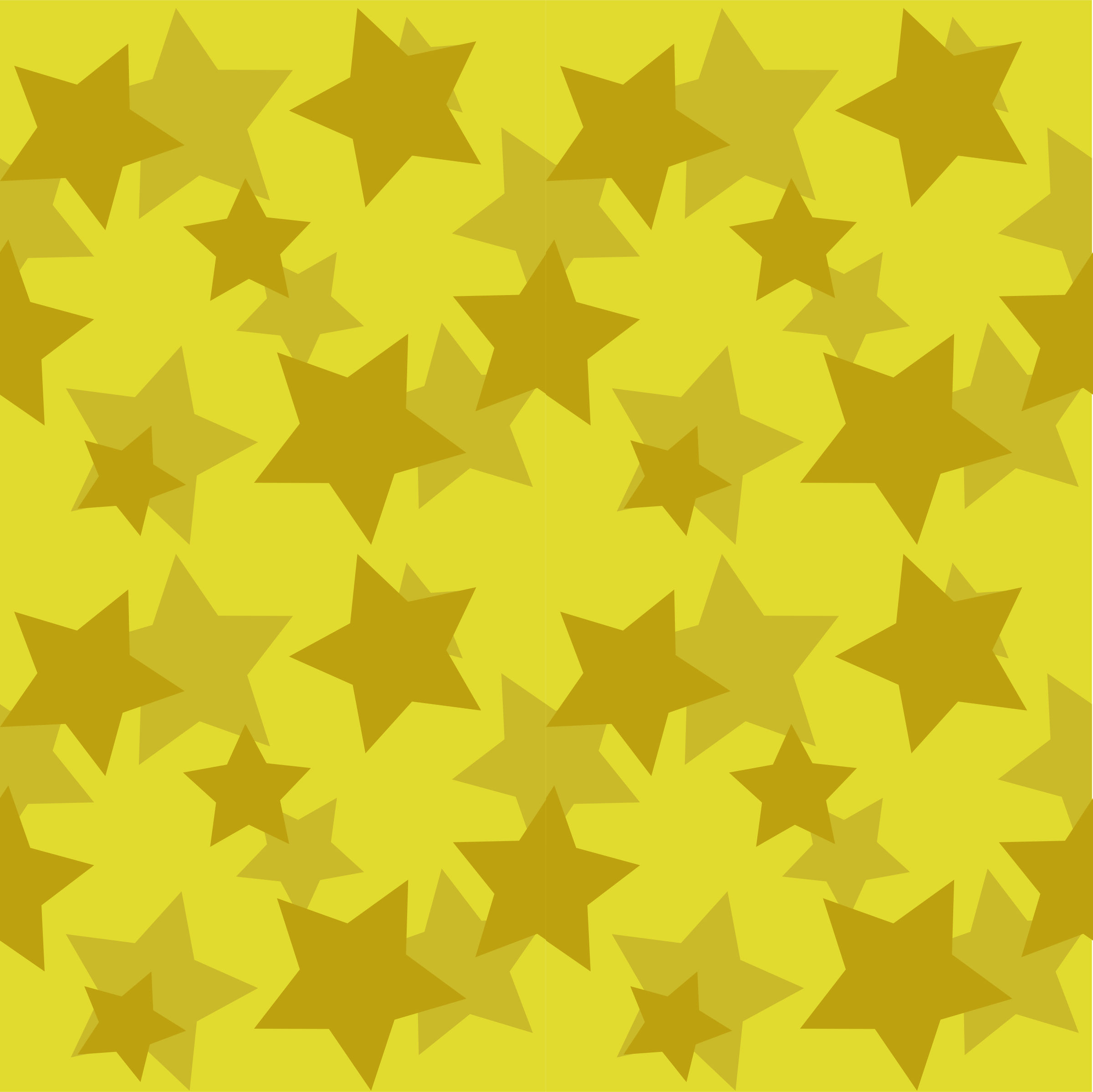 gold stars seamless pattern by OlKu
