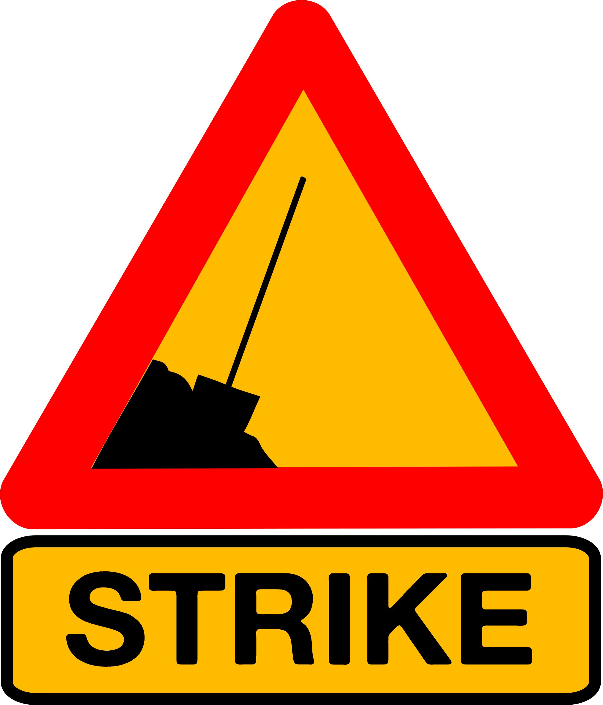 Caution strike by dominiquechappard