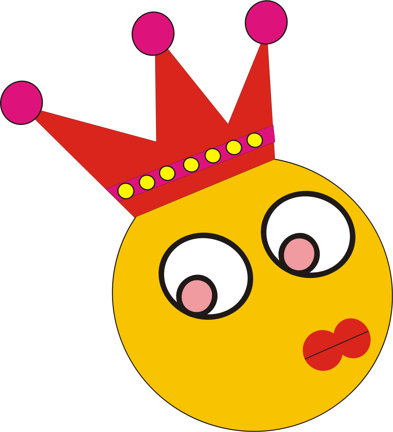clipart queen by niken sofi salma