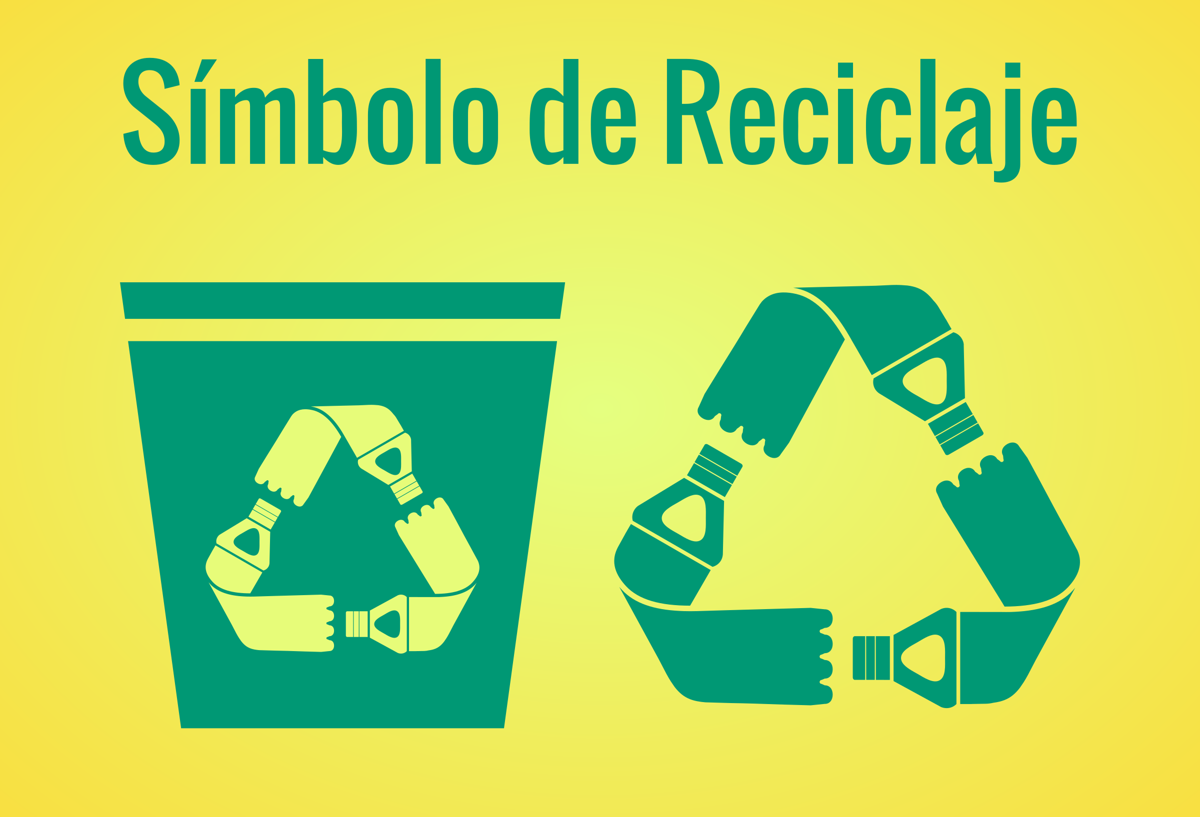 Recycling-Symbol by Rcondo