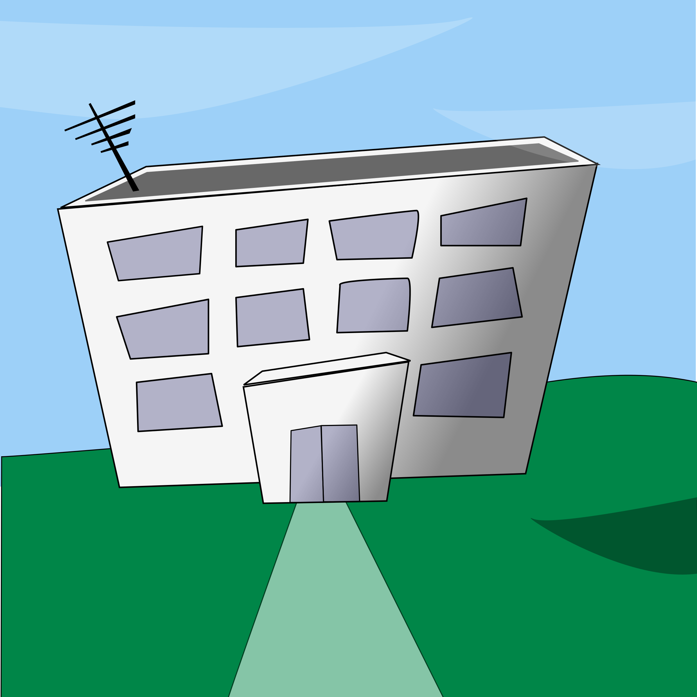 Cartoon building by bogdanco