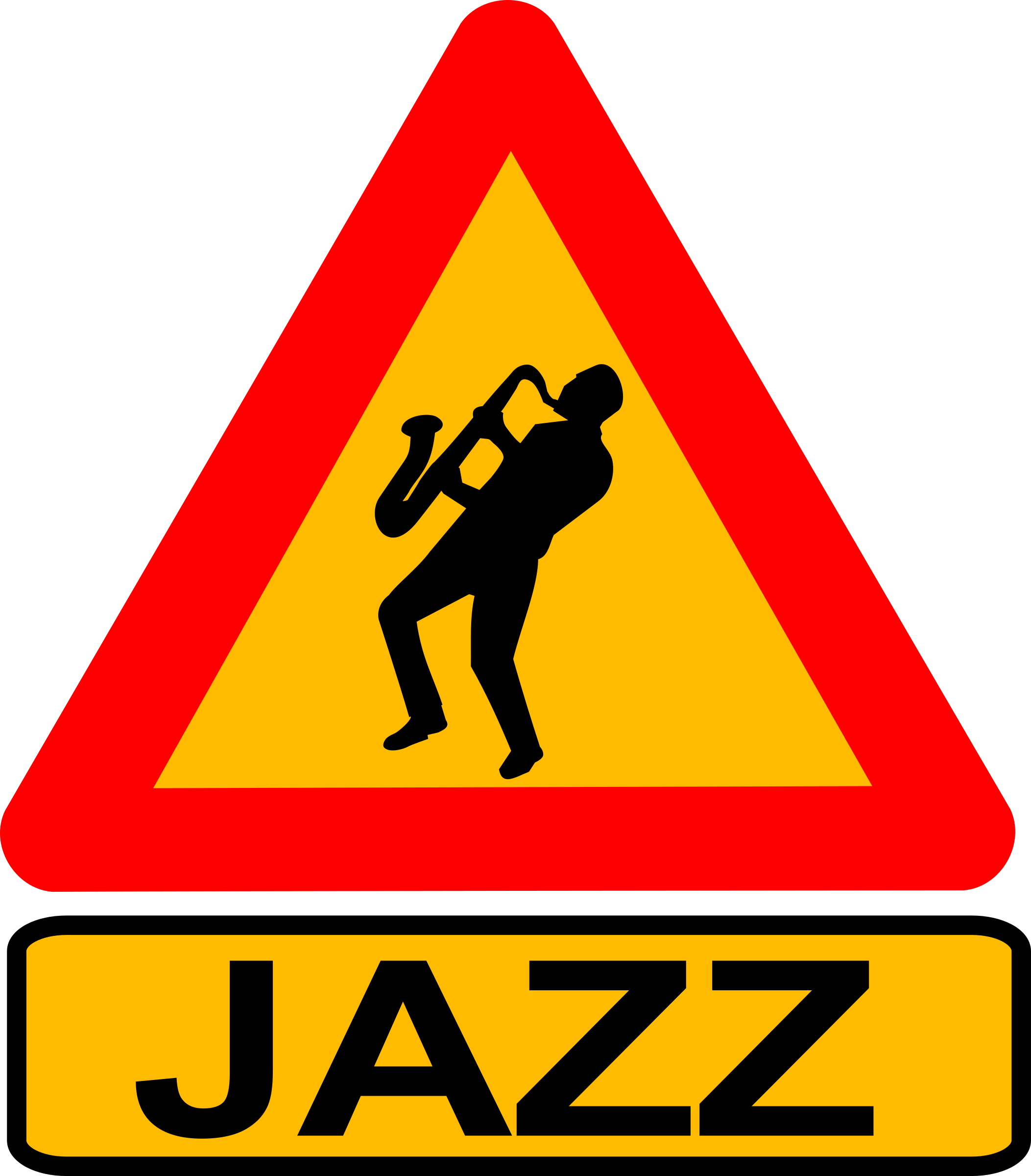 Caution jazz by dominiquechappard