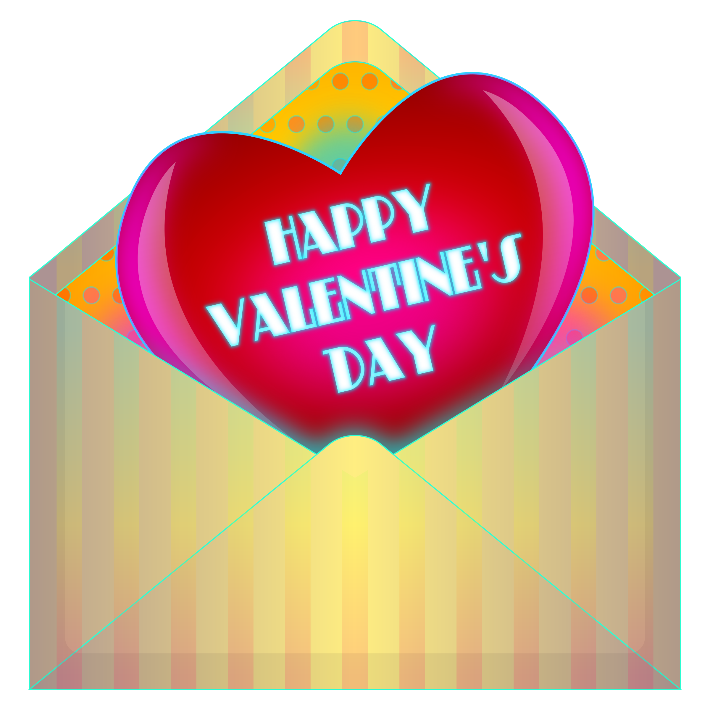 Clipart Valentines Day Card