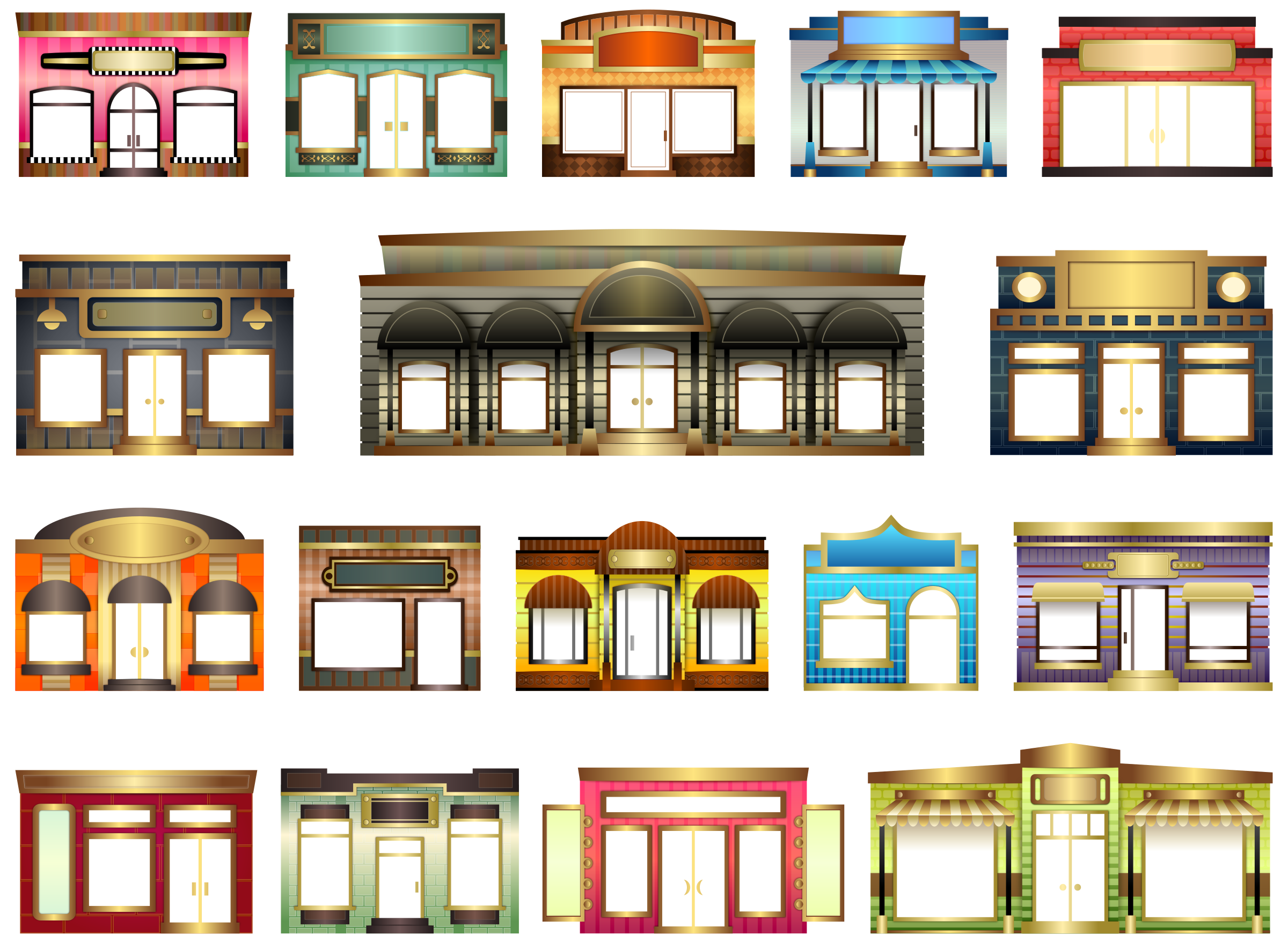 Store Fronts by Viscious-Speed