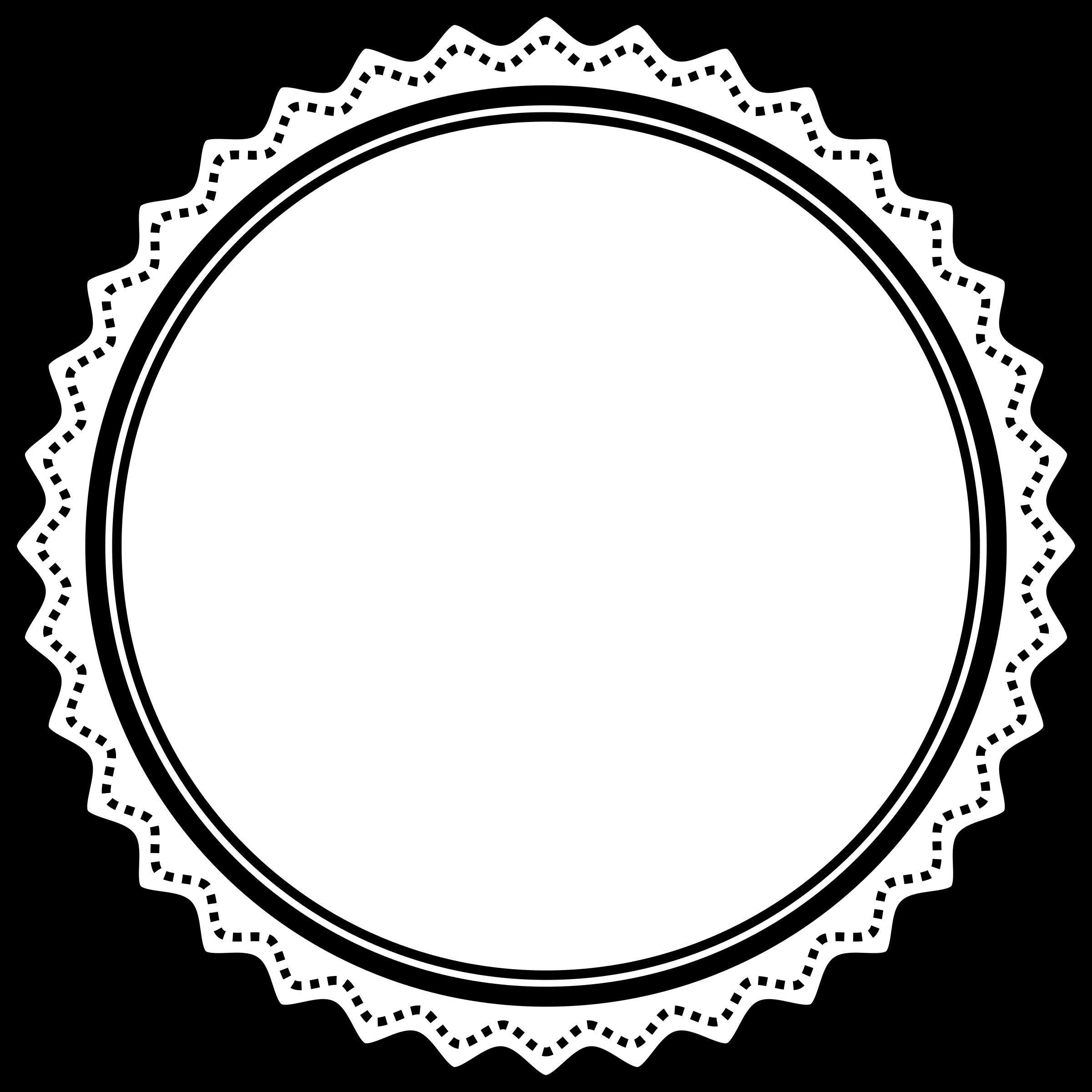 clipart fancy badge 2