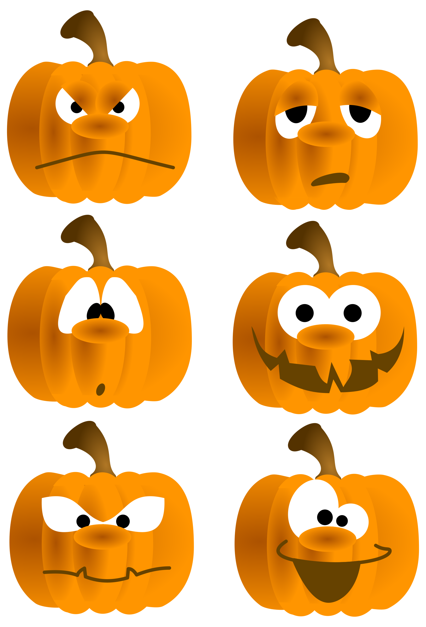 Pumpkin Faces by tatica