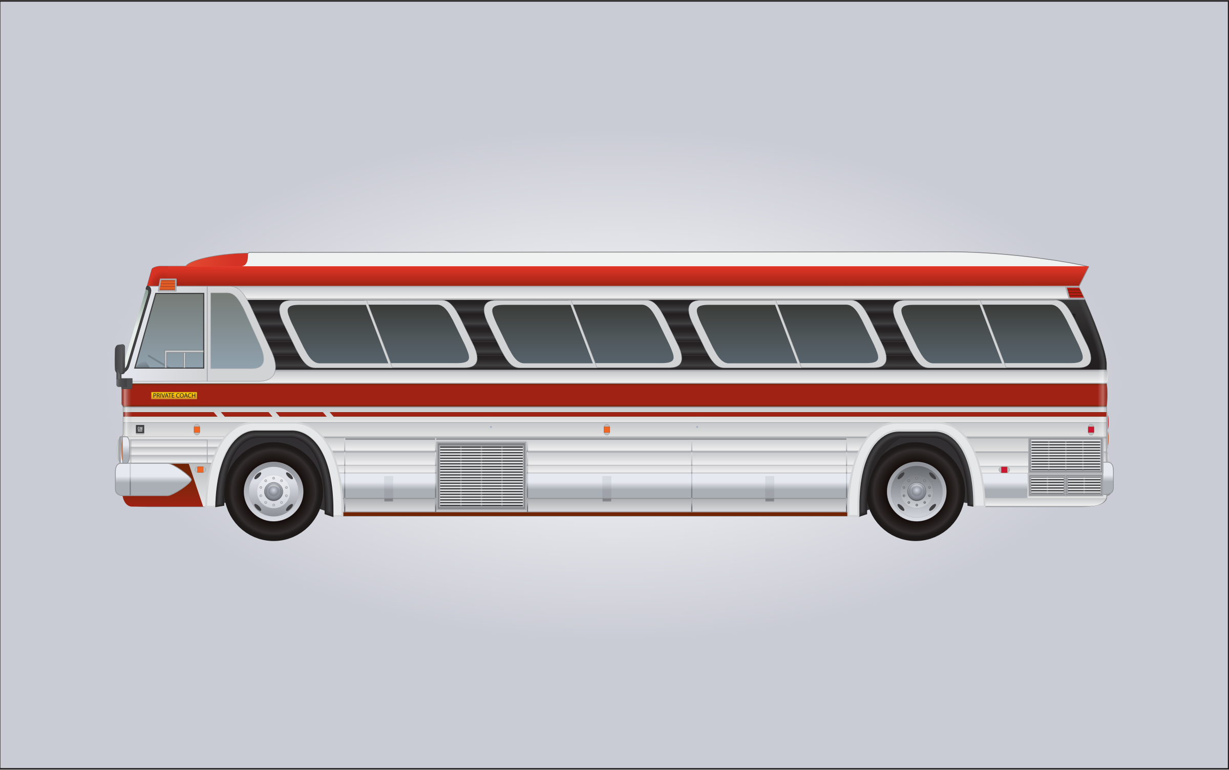 1960's GM PD-4106 Bus by bnsonger47