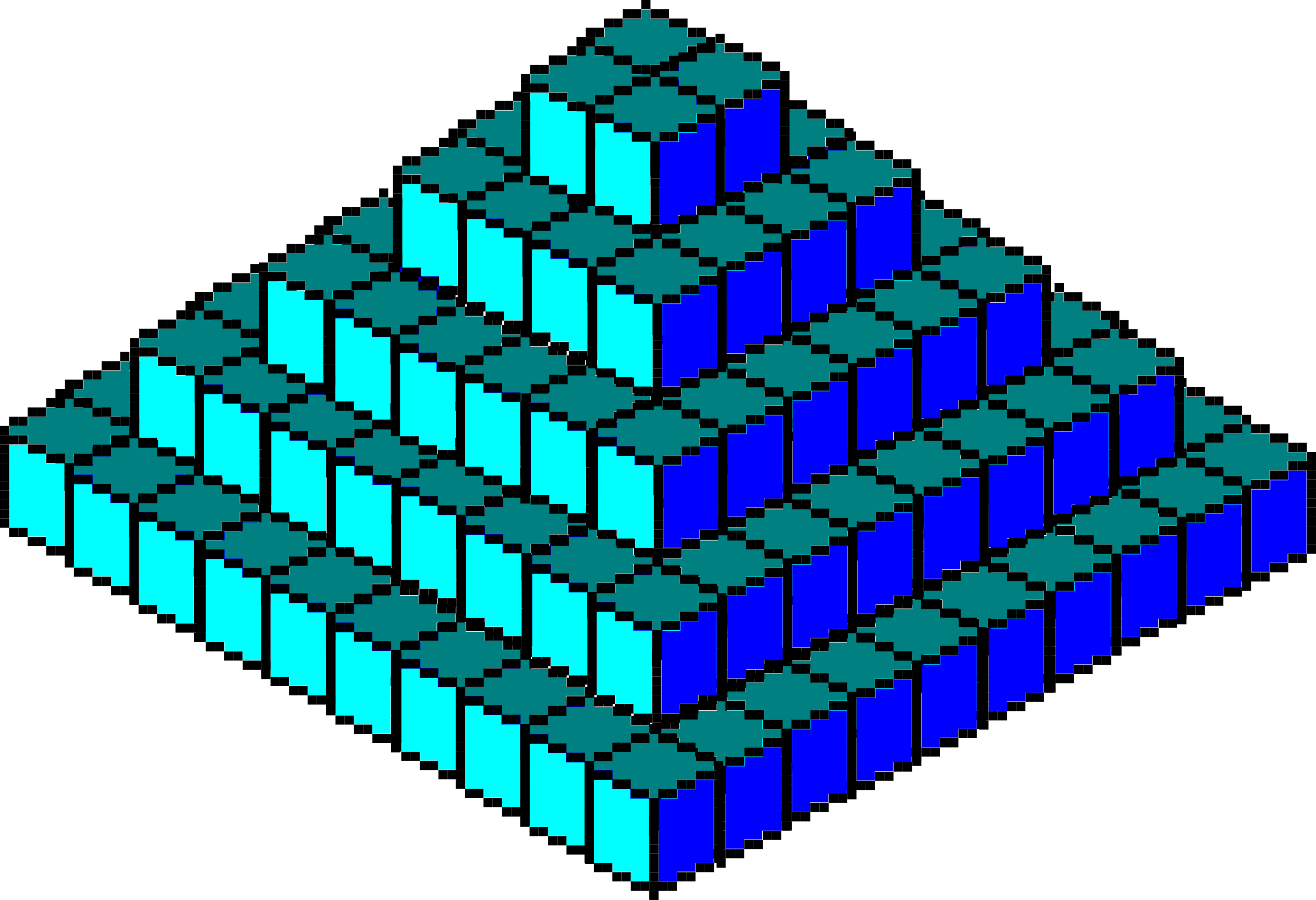 Pixel Piramide by asrafil